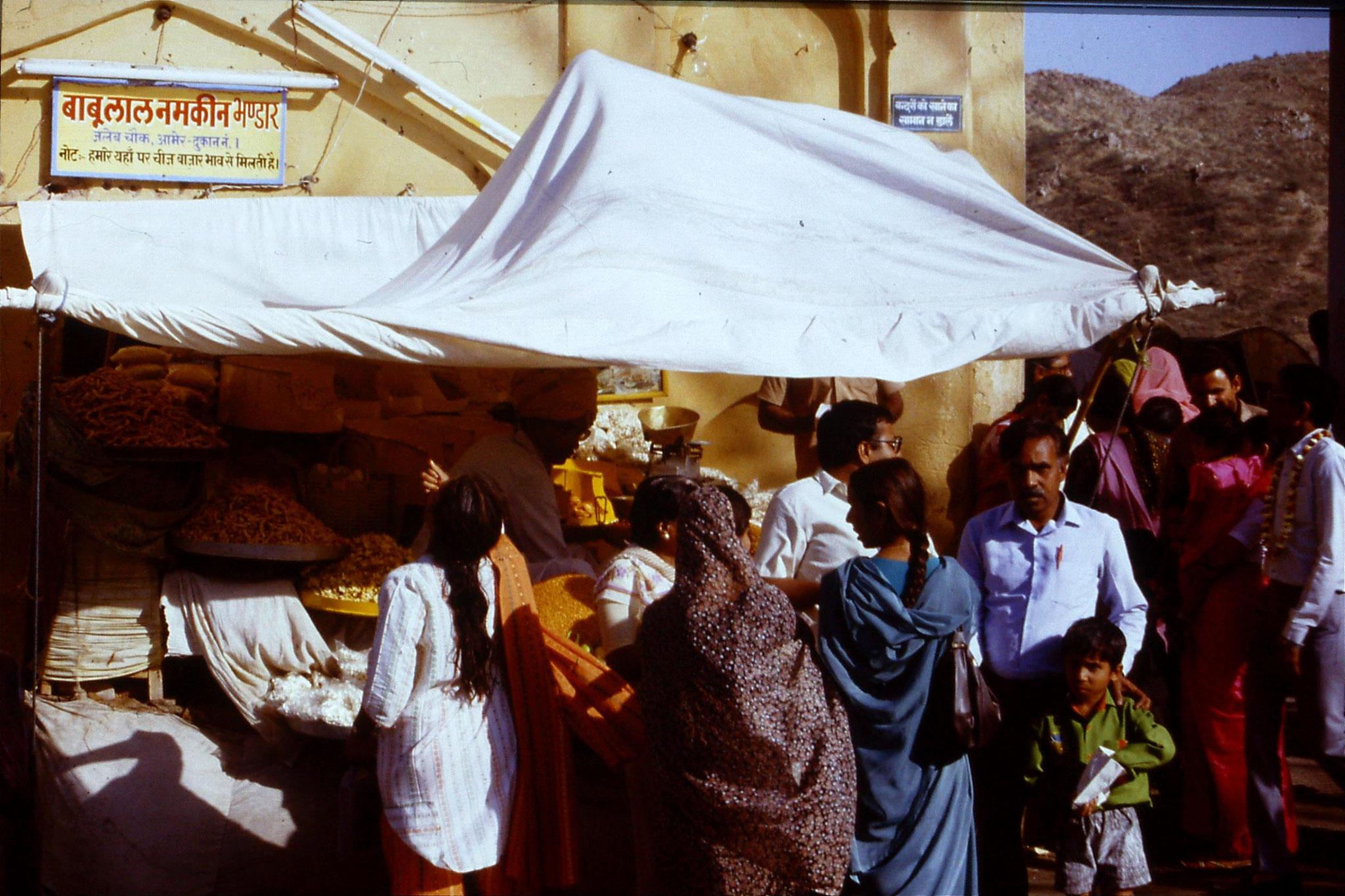 109/17: 3/4/1990 Jaipur/Amber - sweet stall