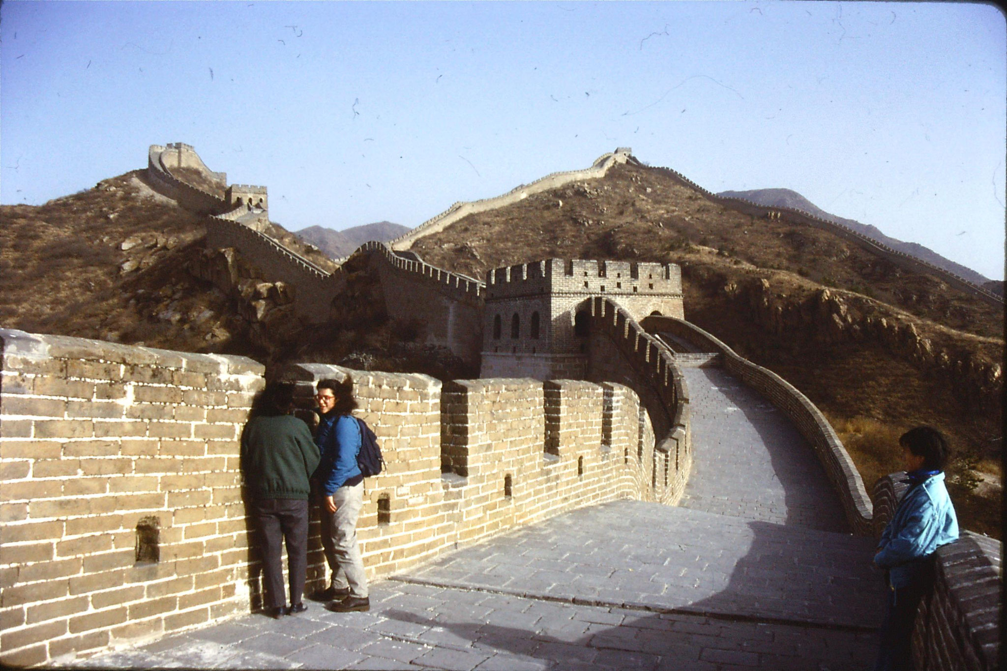 12/11/1988: 3: Great Wall at Badaling