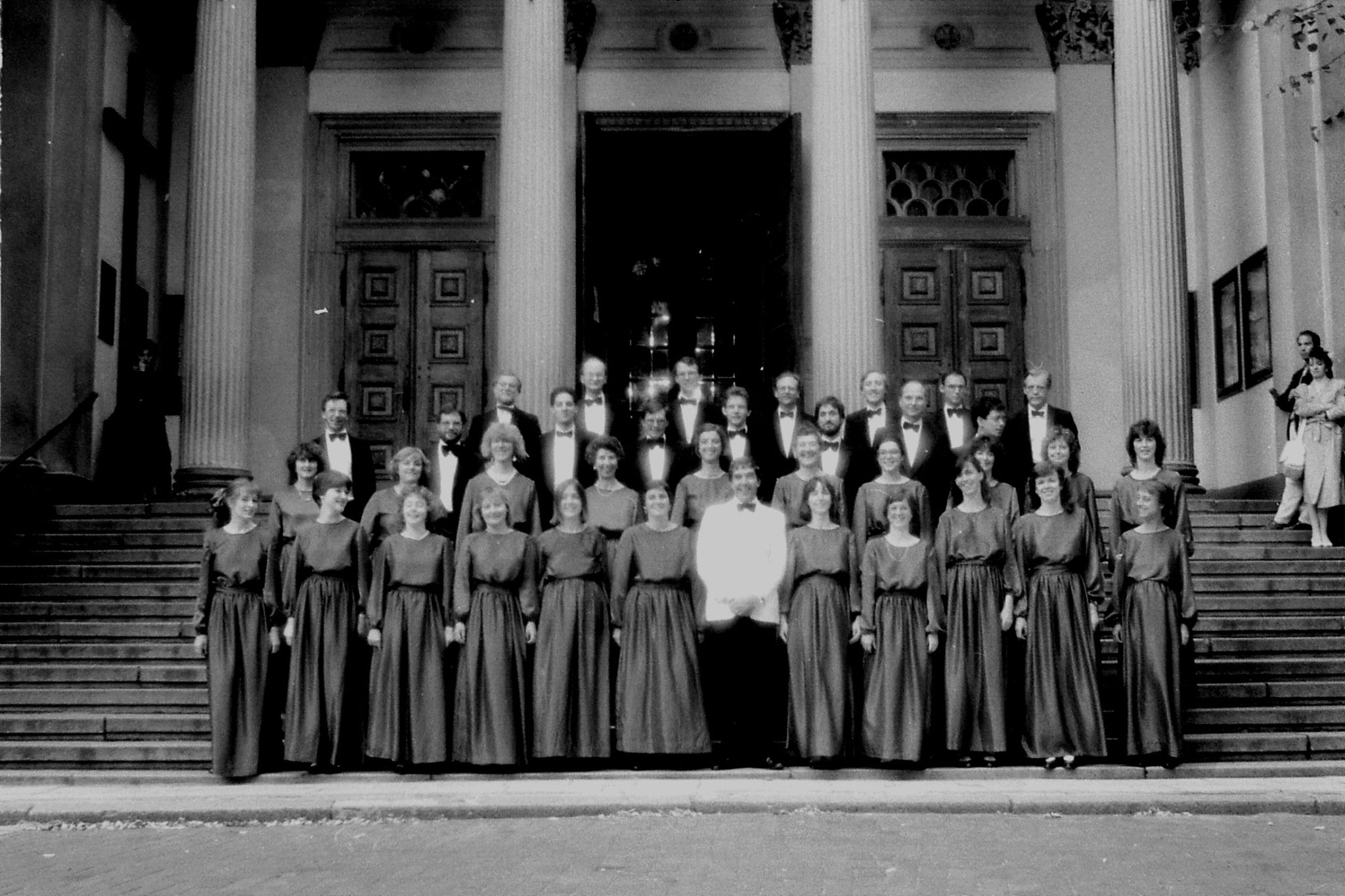 26/8/1988: 3: London Chorale at St Andrew's Warsaw