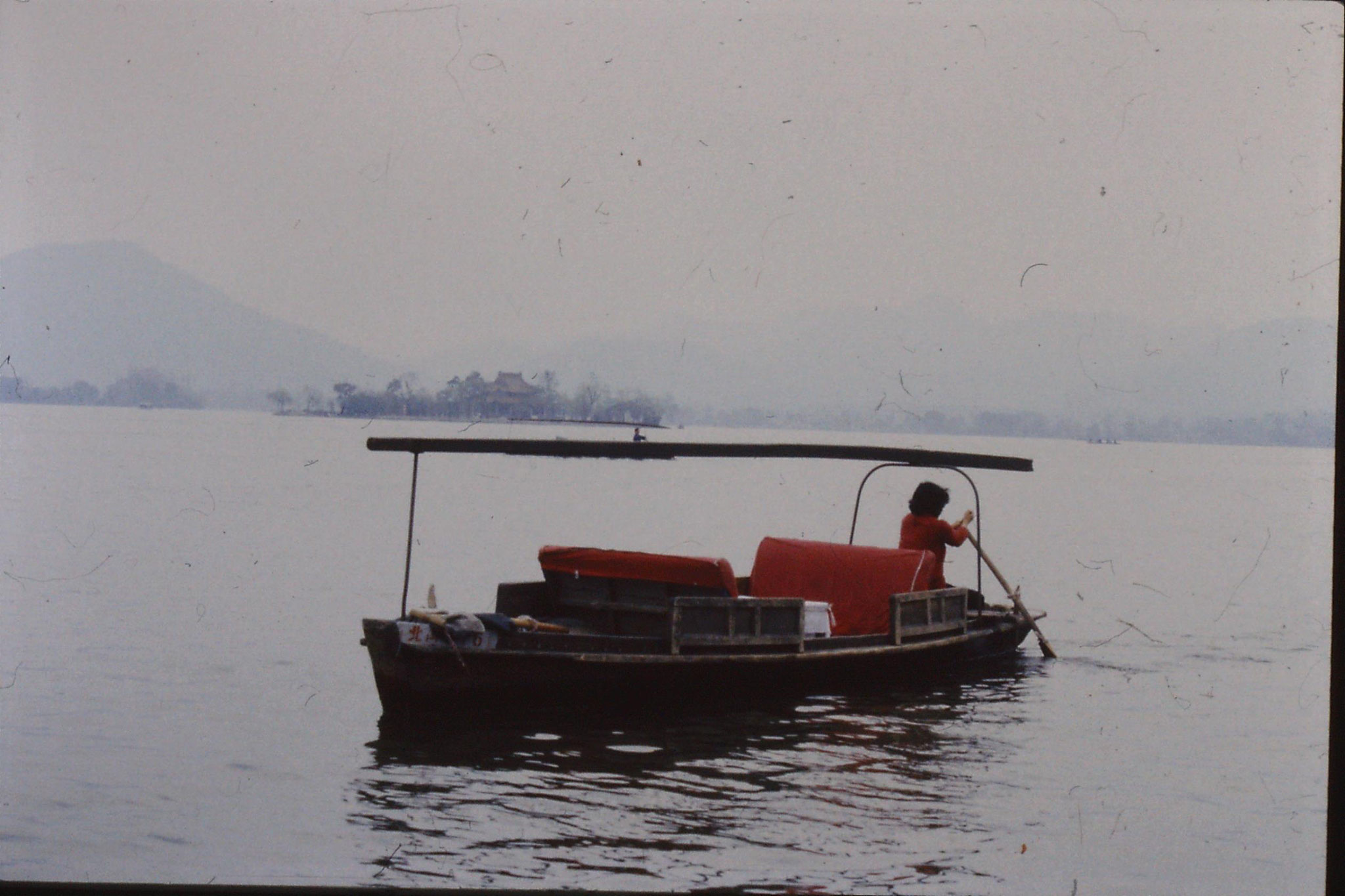 25/3/1989: 13: Hanzhou 'Mid Lake Pavillion Island'