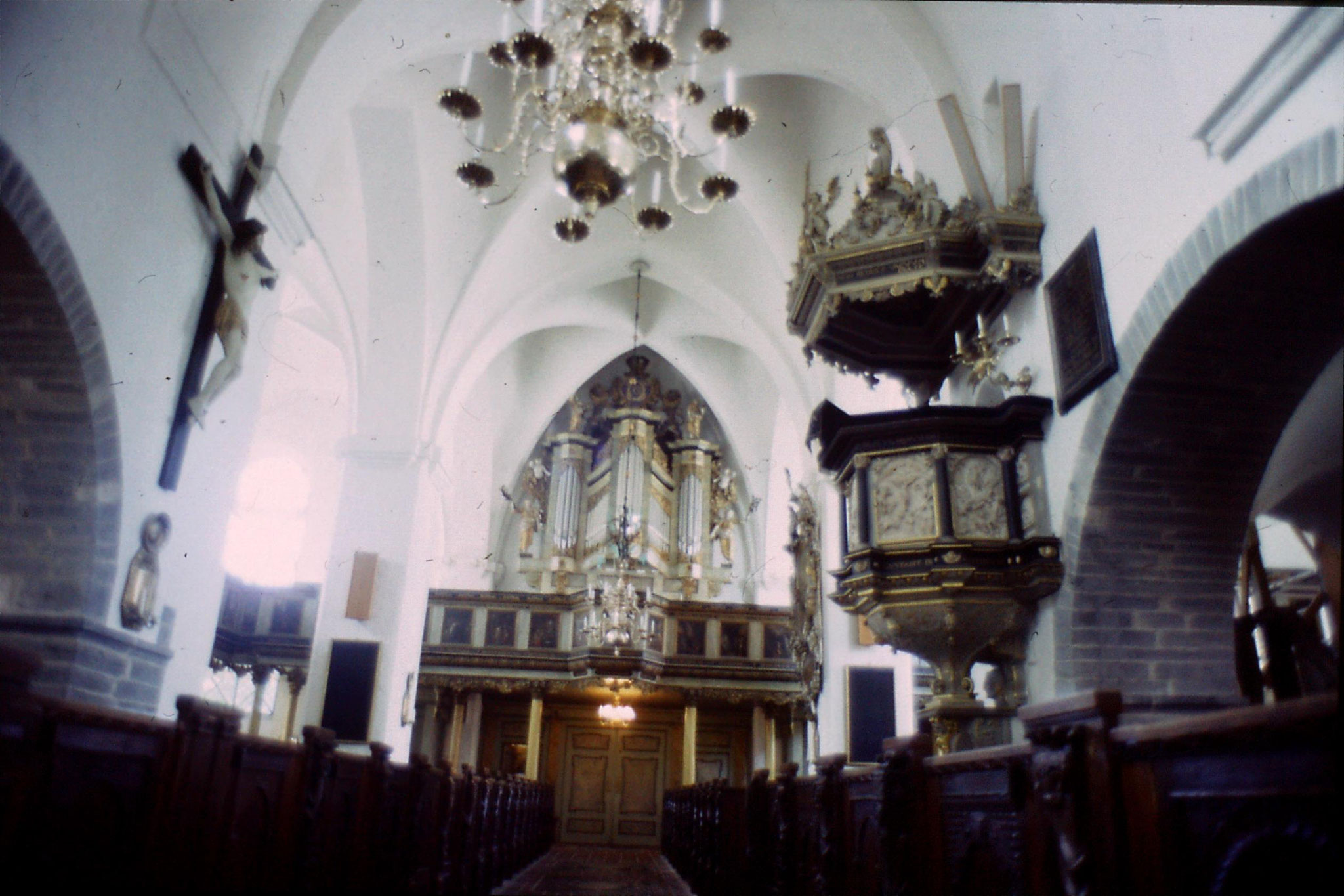 31/8/1988: 17: Ystad St Maria Church