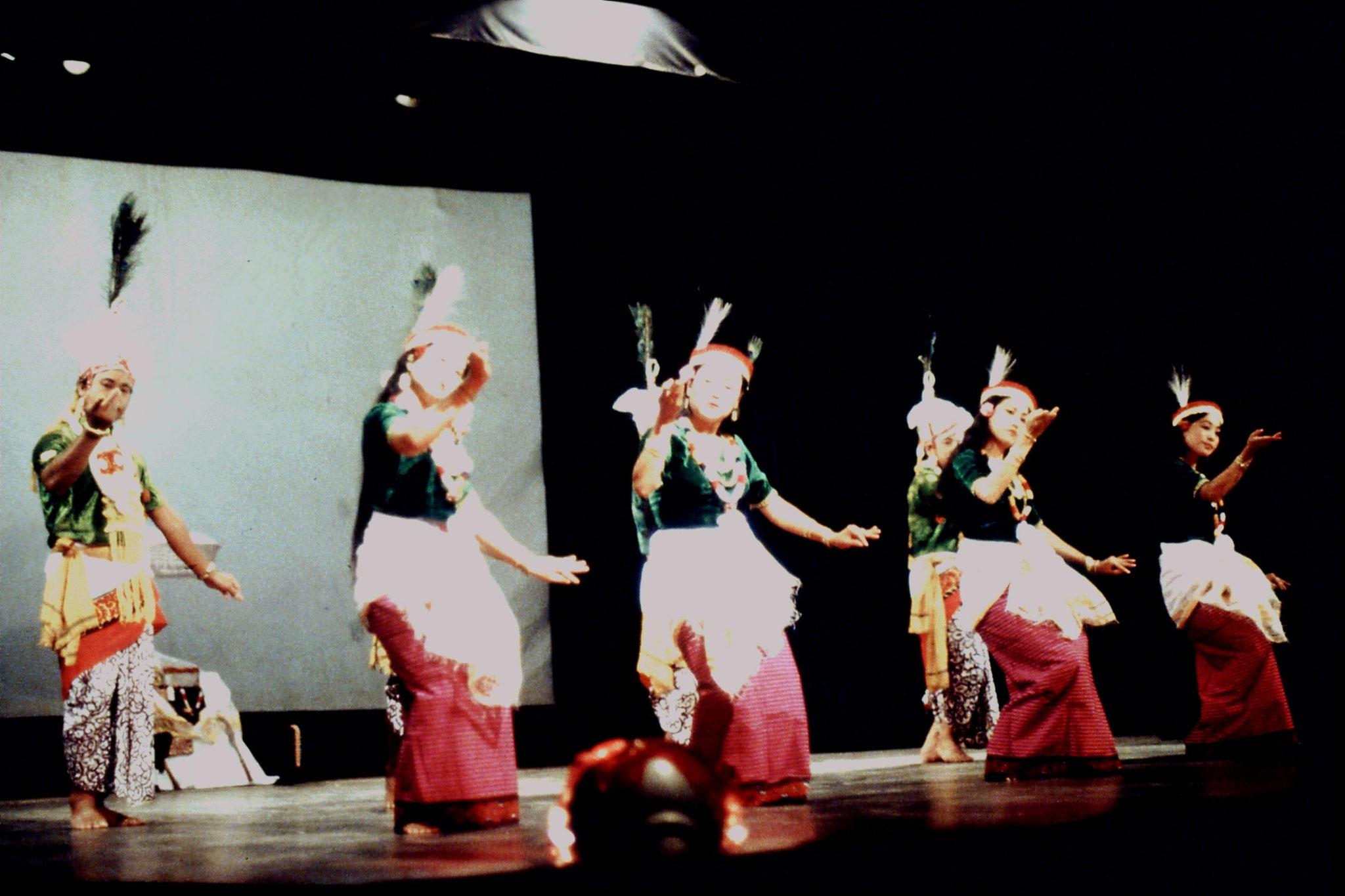 114/02: Imphal - Nehru Manipur Dance Academy show