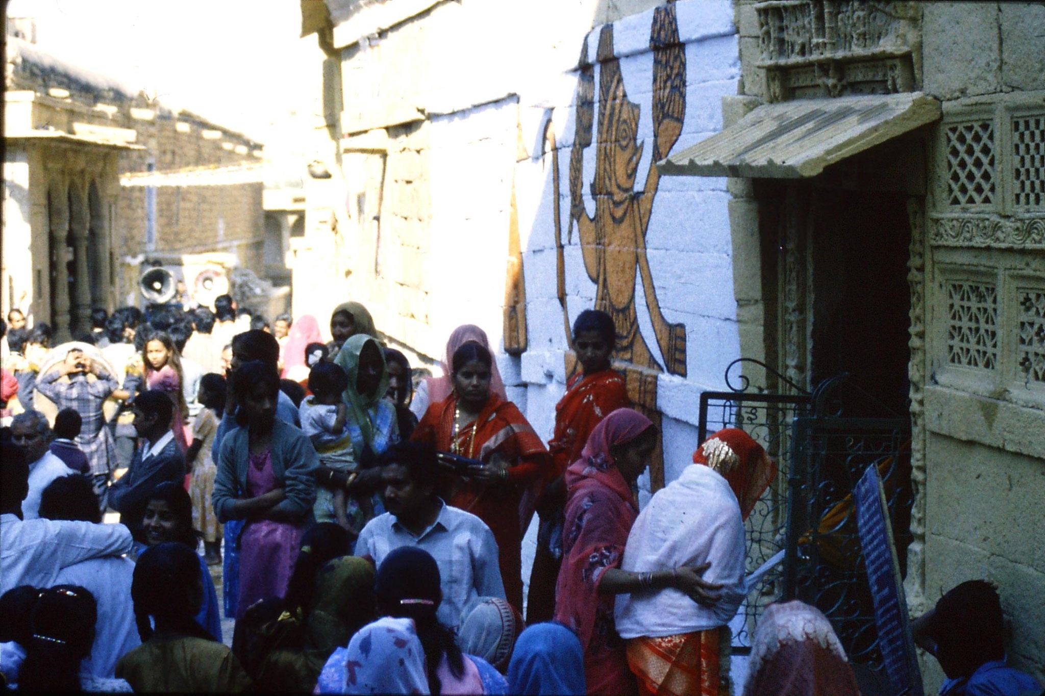 3/12/1989: 6: Jaisalmer wedding procession