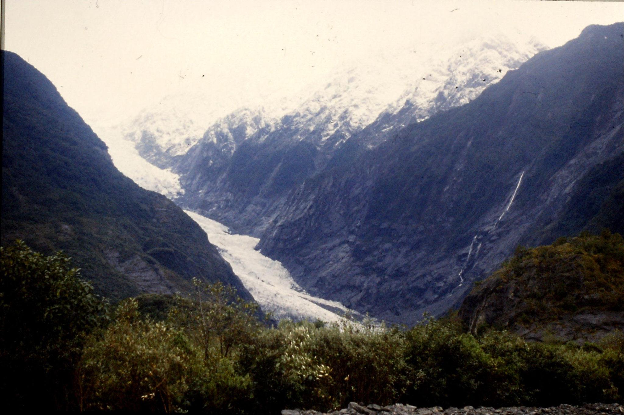 22/8/1990: 30: Franz Joseph Glacier