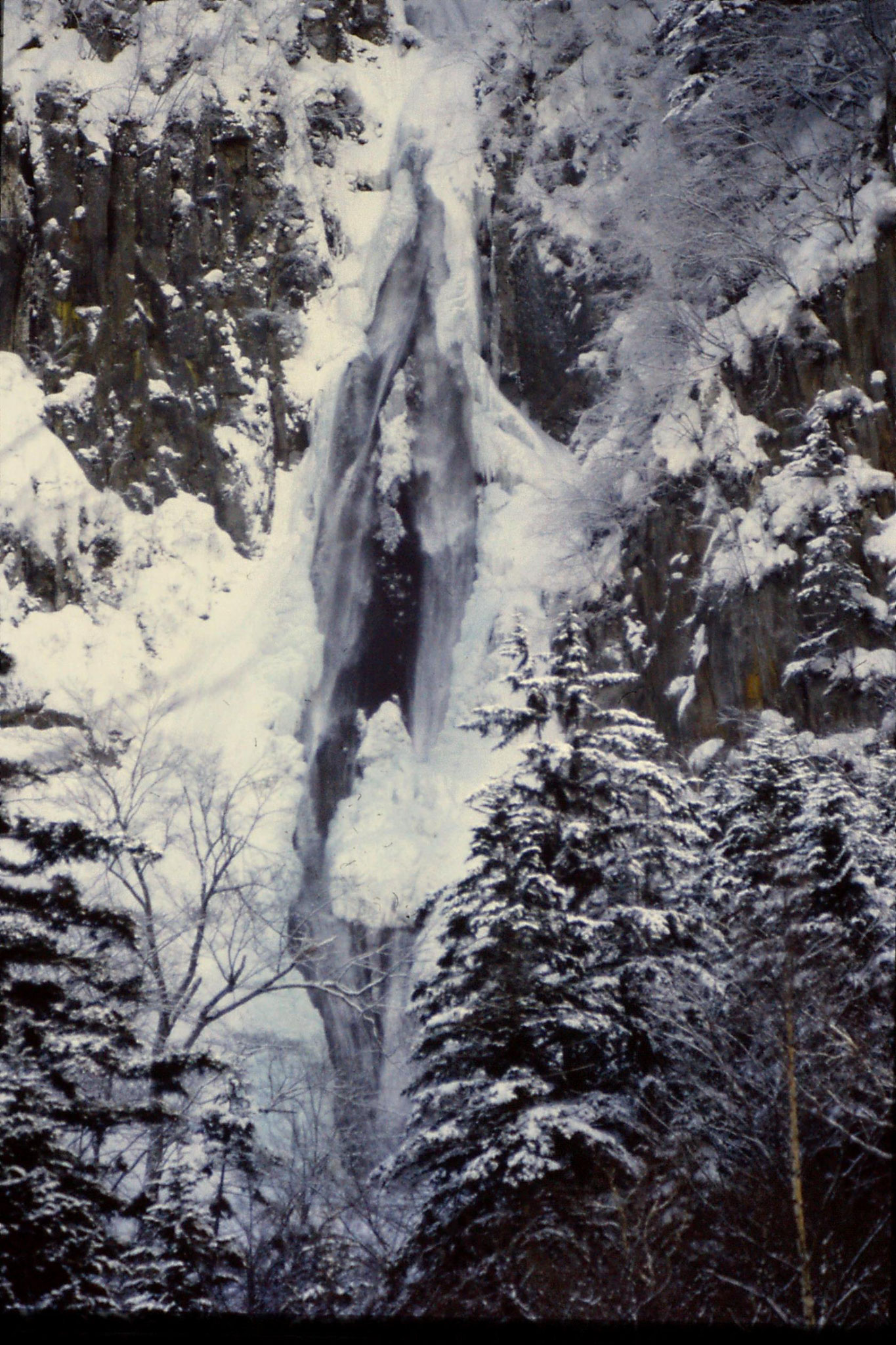 12/1/1989: 14: Sounkyo Onsen Gorge, Ginga-no-taki