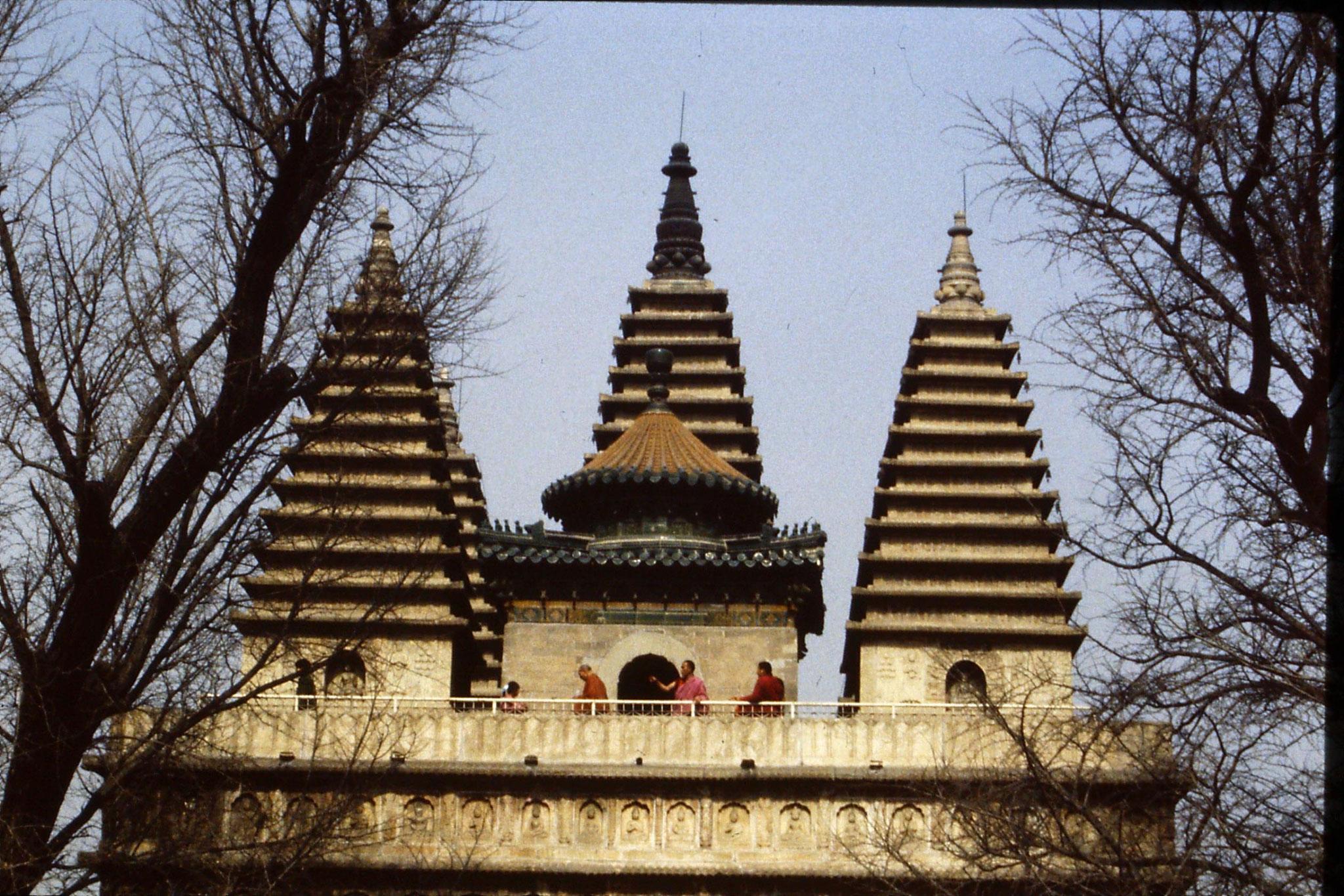 12/3/1989: 8: Beijing Wutasi temple