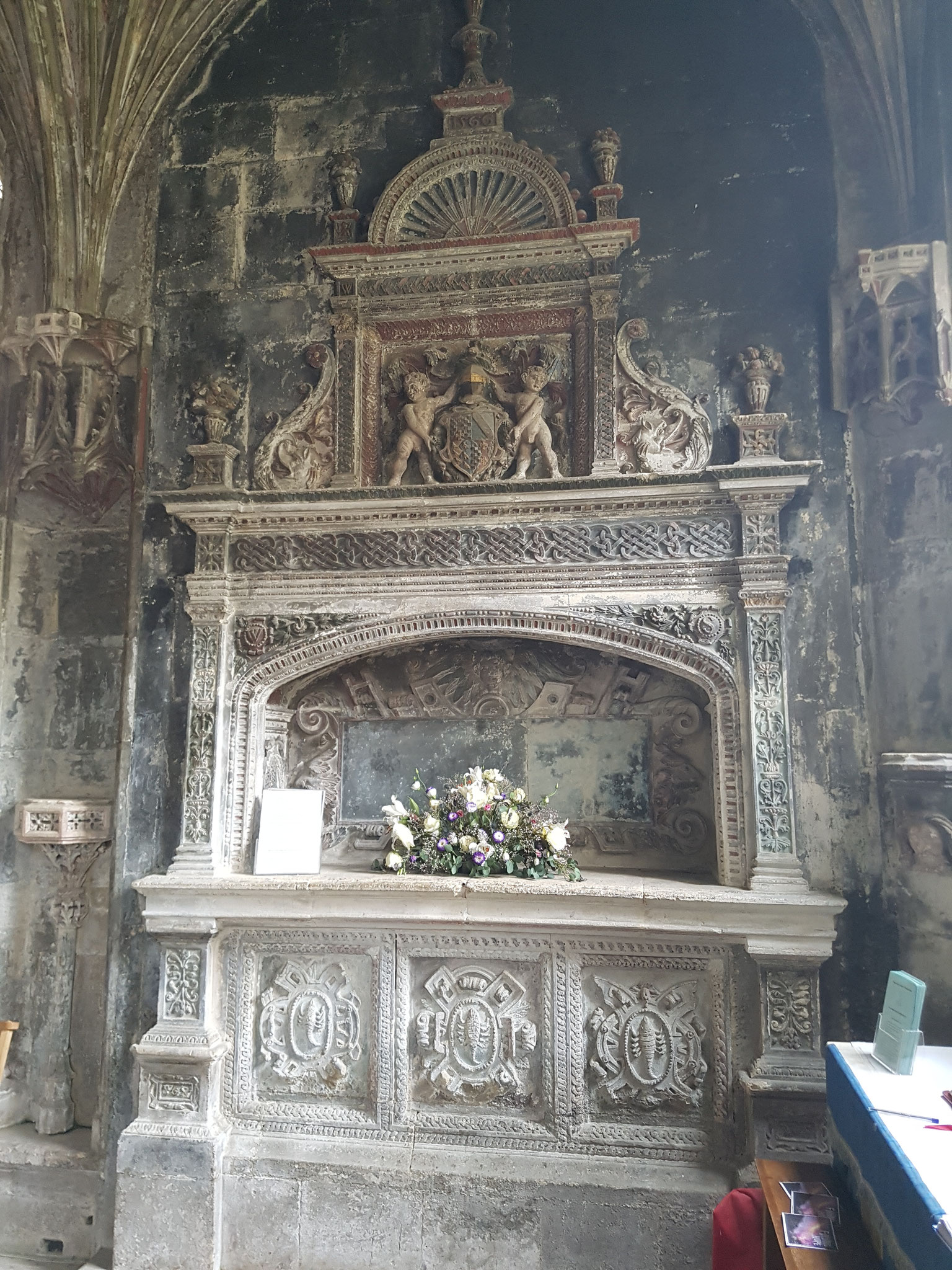 Tomb of Sir William Sharington d.1553