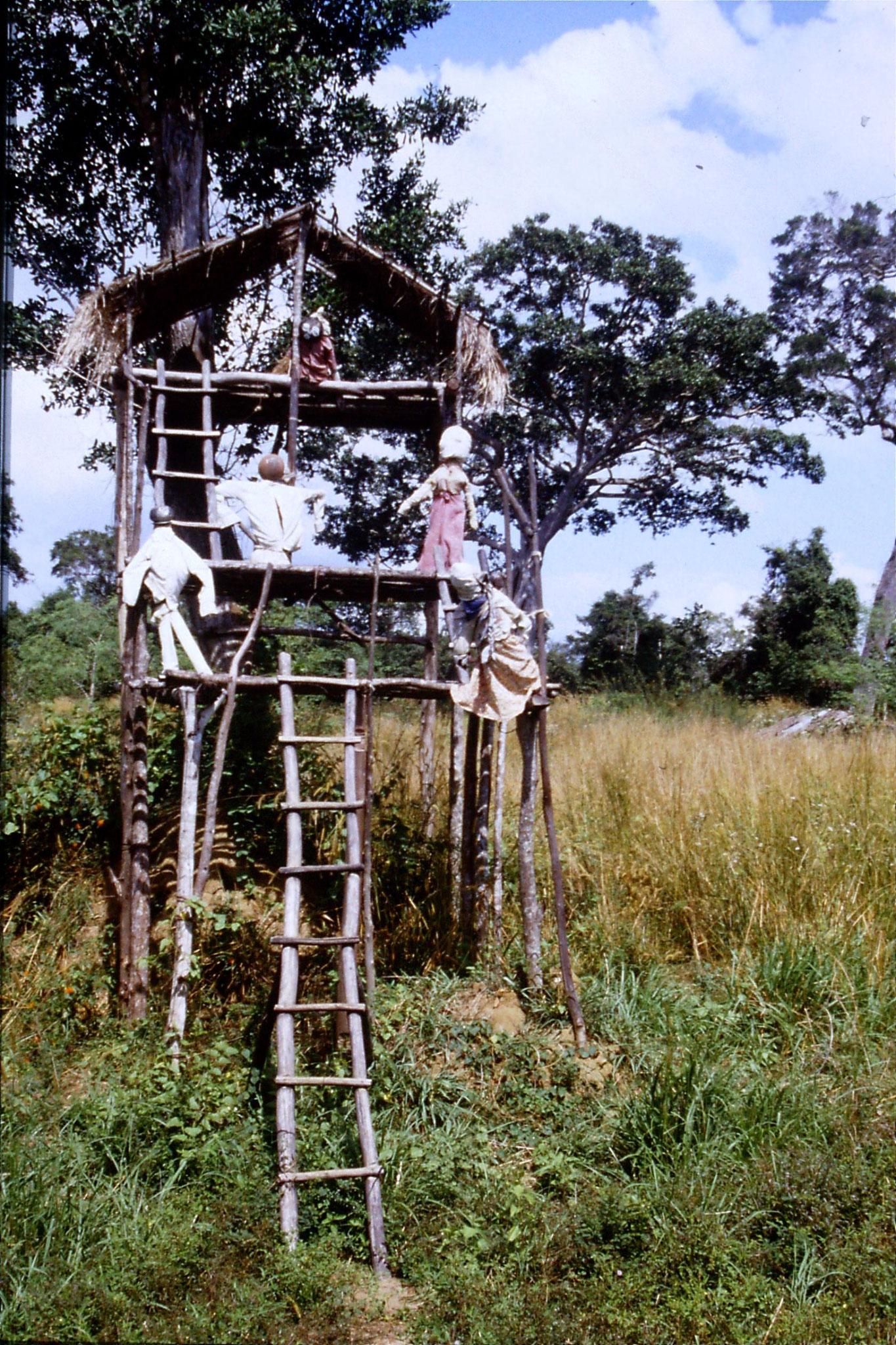 102/37: 8/2/1990 Elephant scarecrow