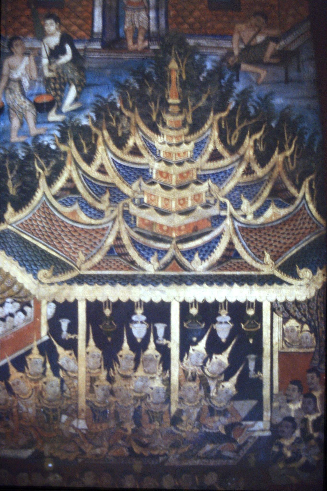 14/6/1990: 0: Chang Mai, Wat Phra Singh frescoes