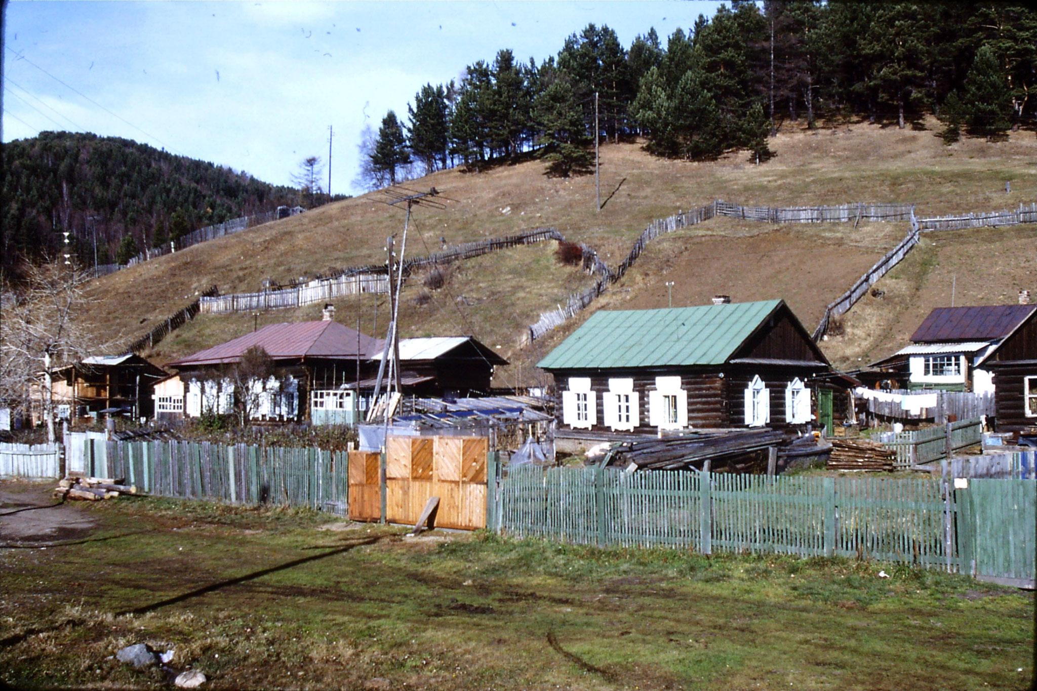 23/10/1988: 24: Lake Baikal Listvyanka