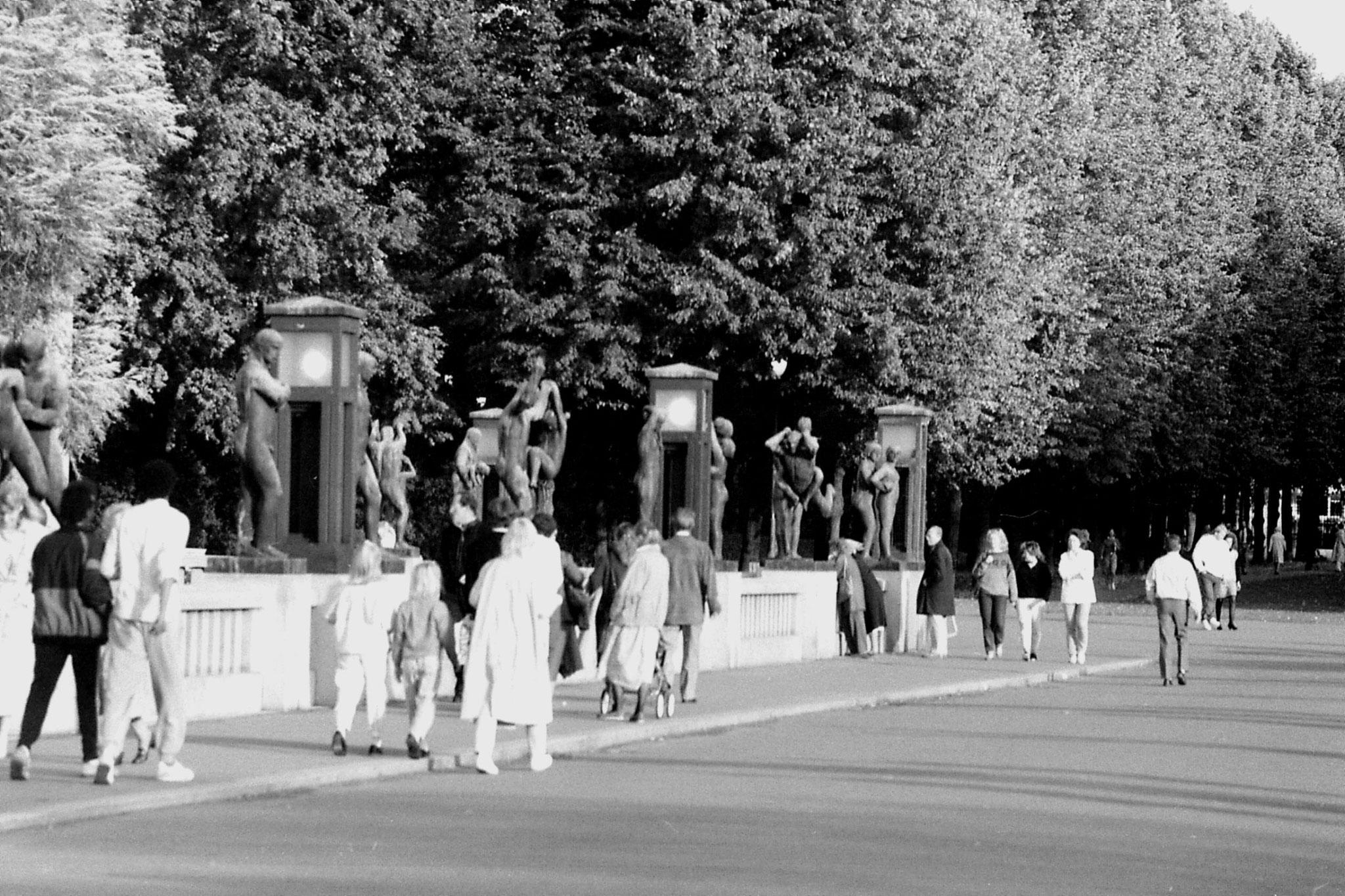 17/9/1988: 12: Vigeland sculpture park