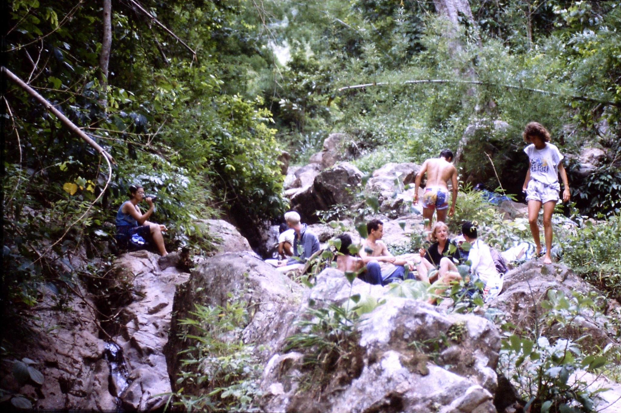 12/6/1990: 14: Trek - lunch