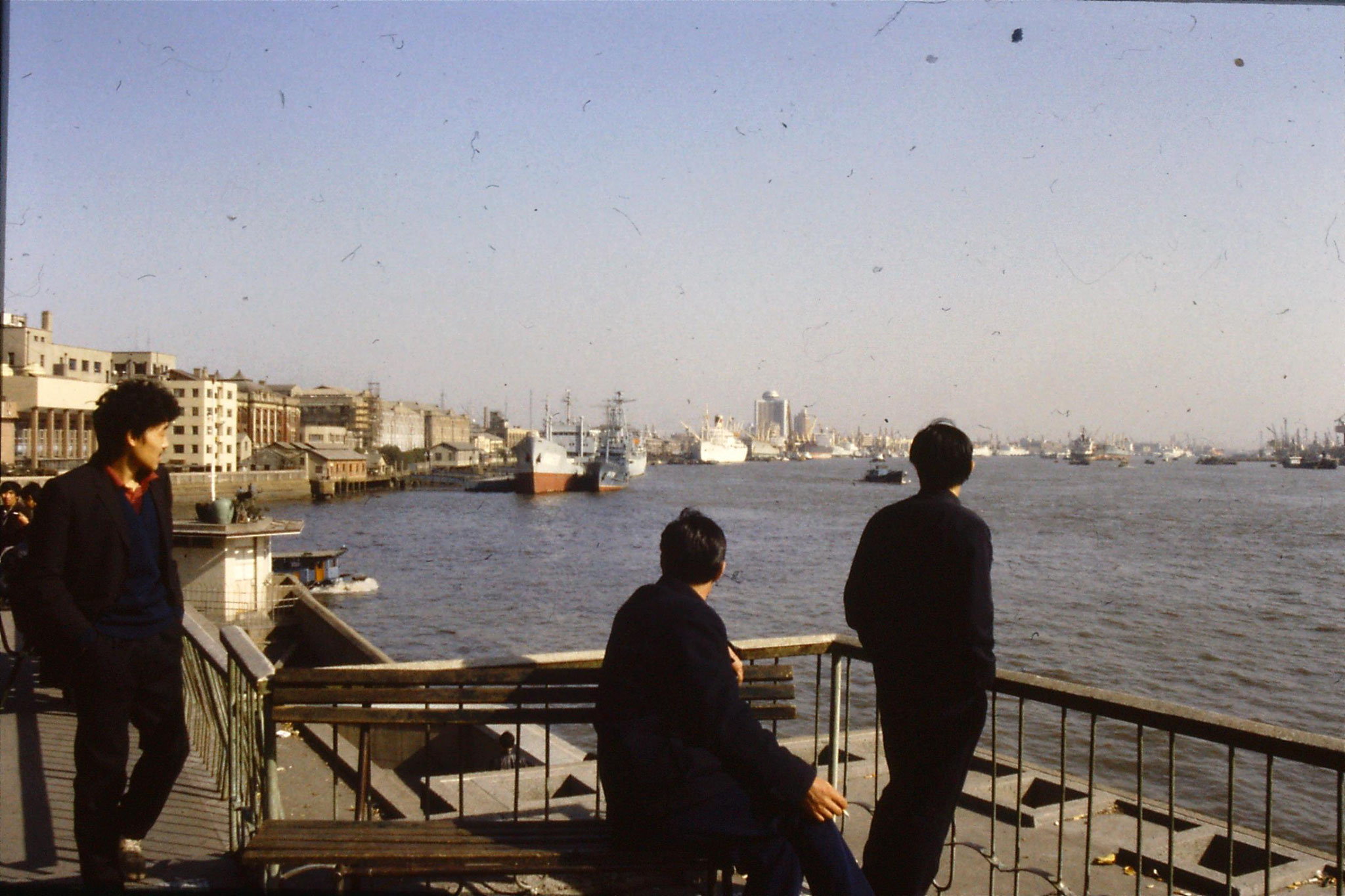 14/12/1988: 6: Shanghai looking down main river