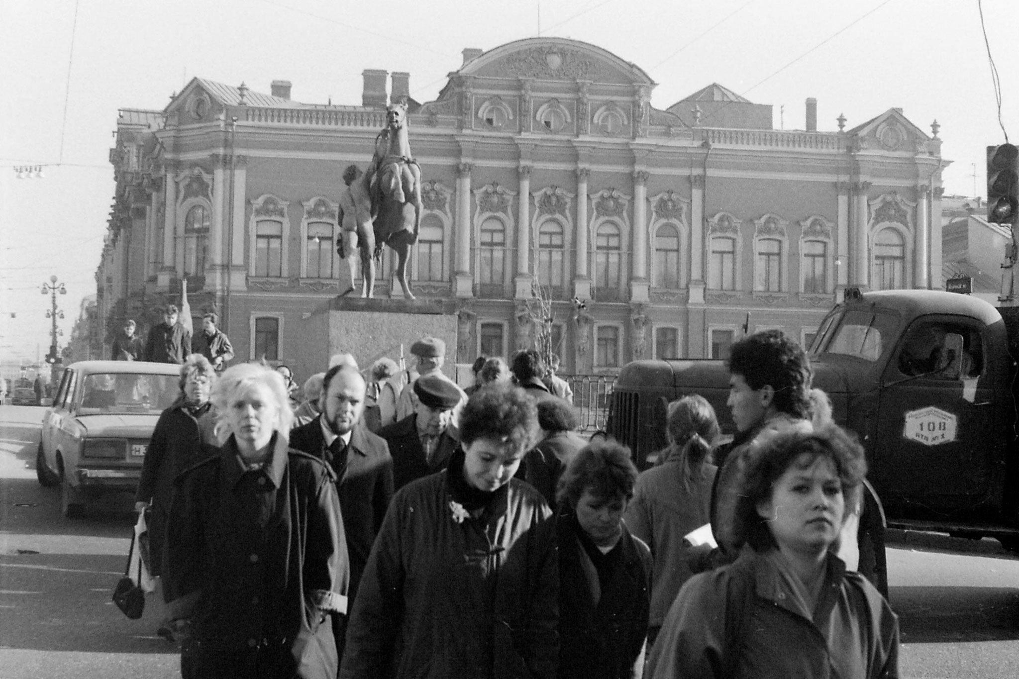 14/10/1988: 25: palace on Nevsky Prospect