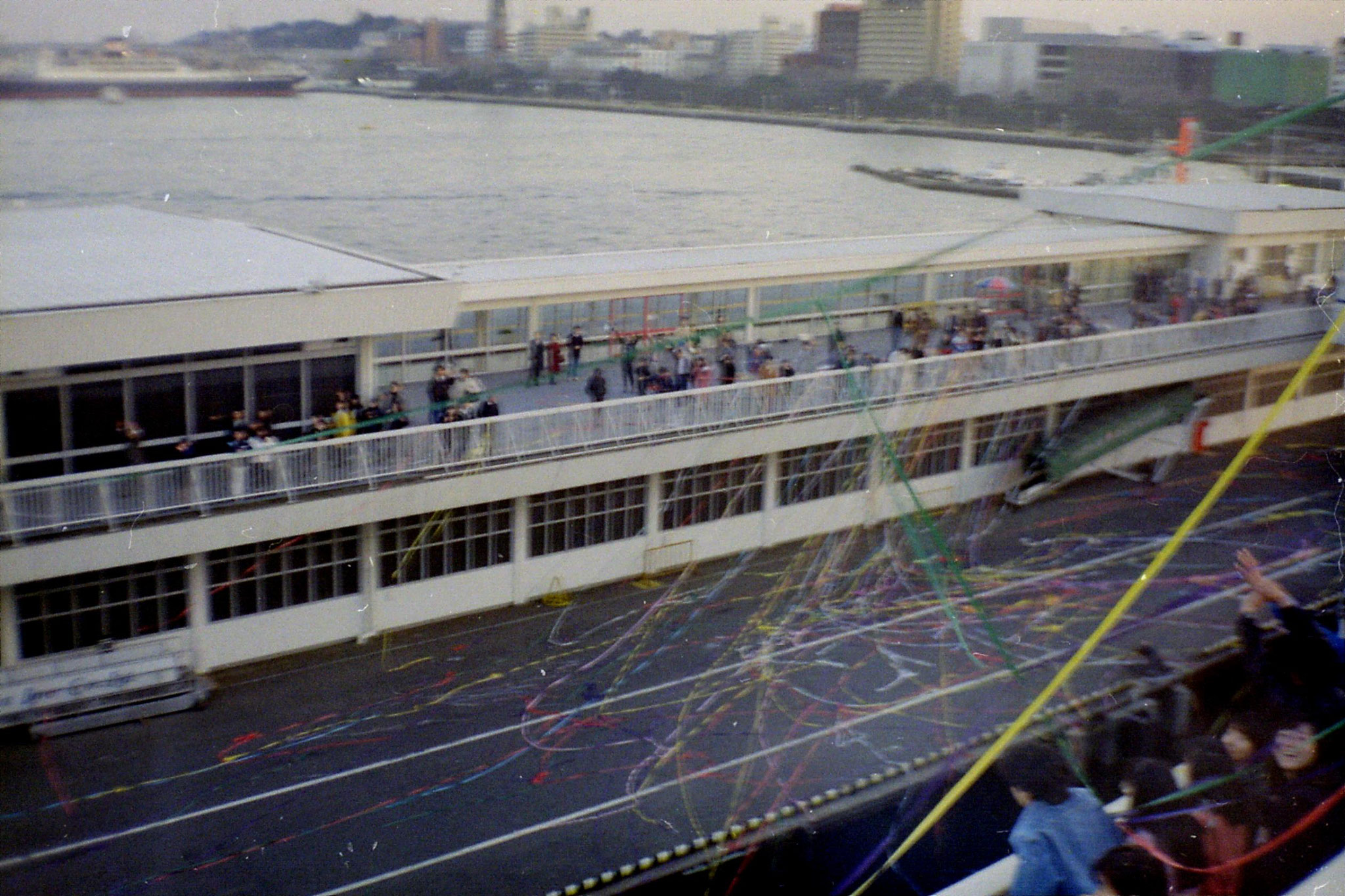 6/2/1989: 11: Yokohama quayside at New Year