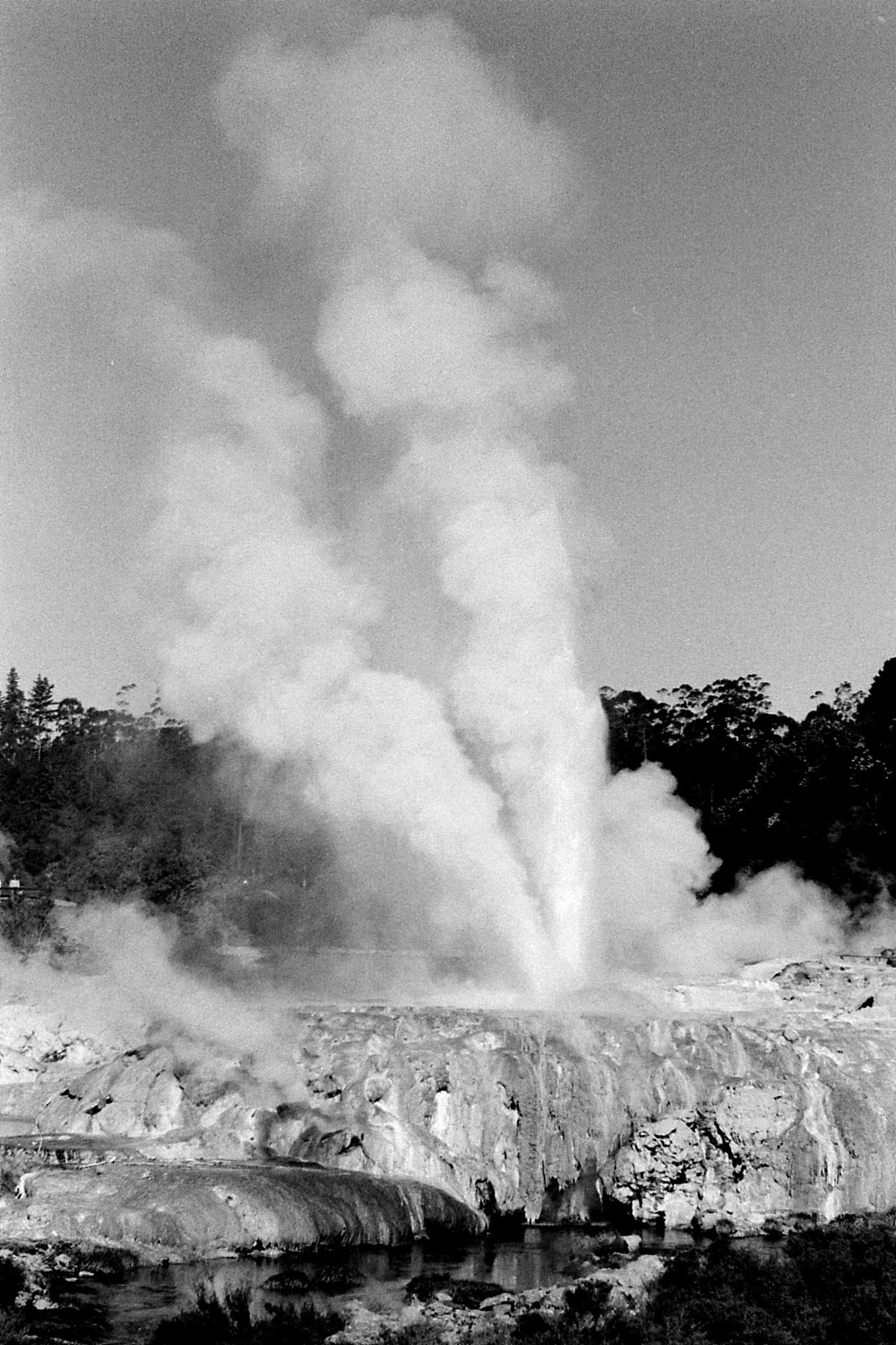 31/8/1990: 15: Rotorua geyser Waikorohihi