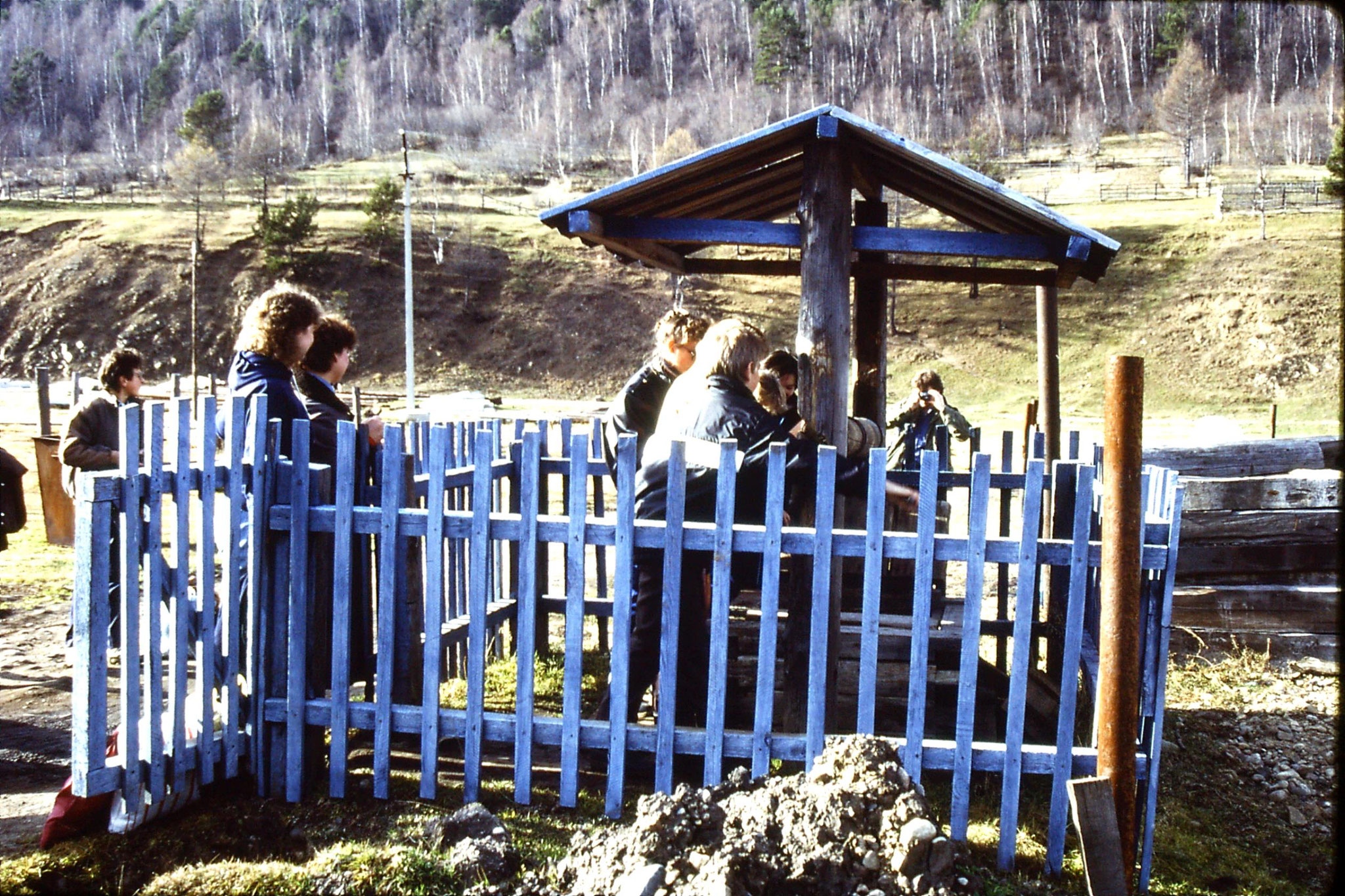 23/10/1988: 31: Lake Baikal Listvyanka well
