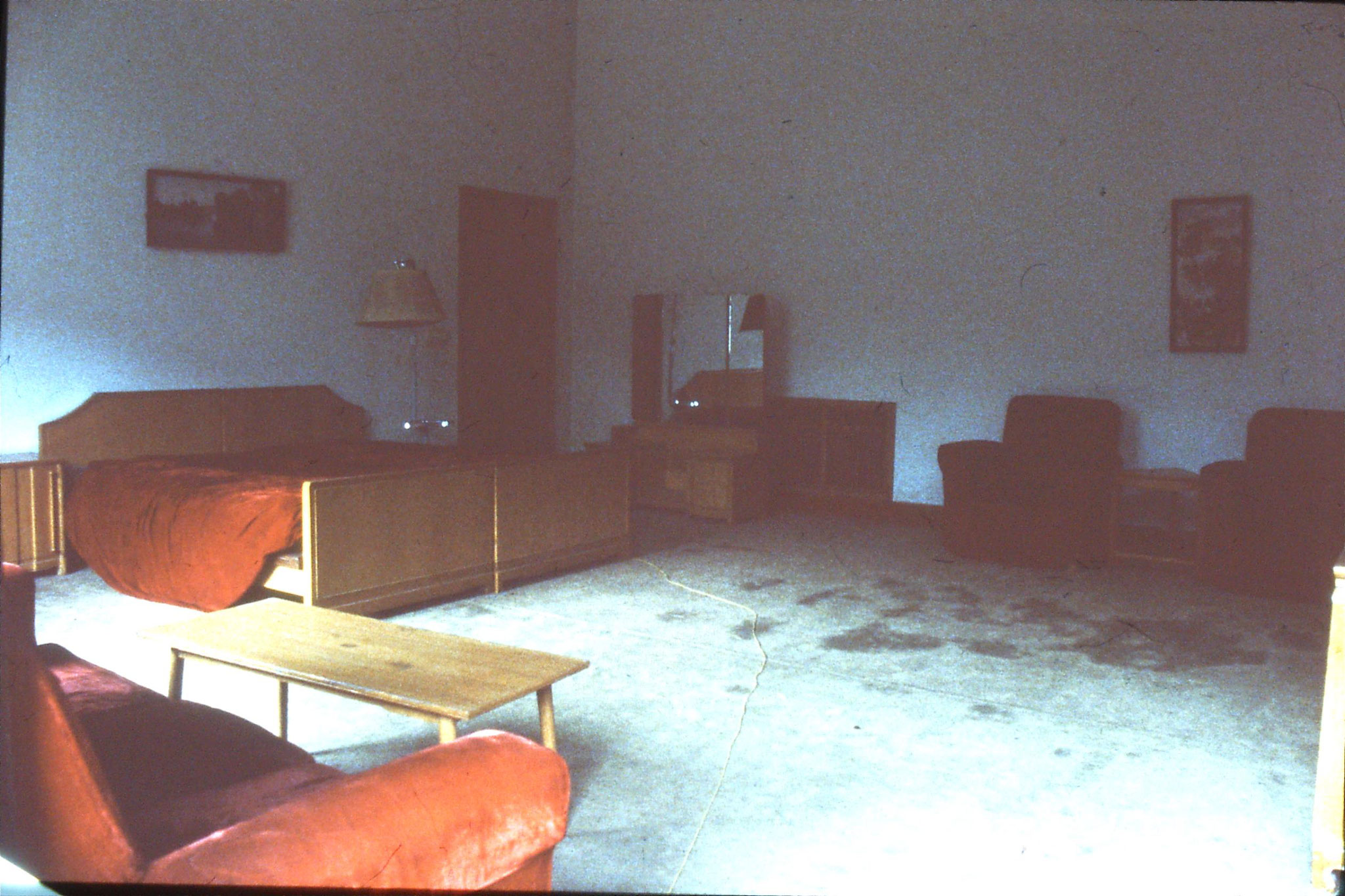 26/3/1989: 15: Lin Biao Mansion (Zhejiang Hotel) bedroom