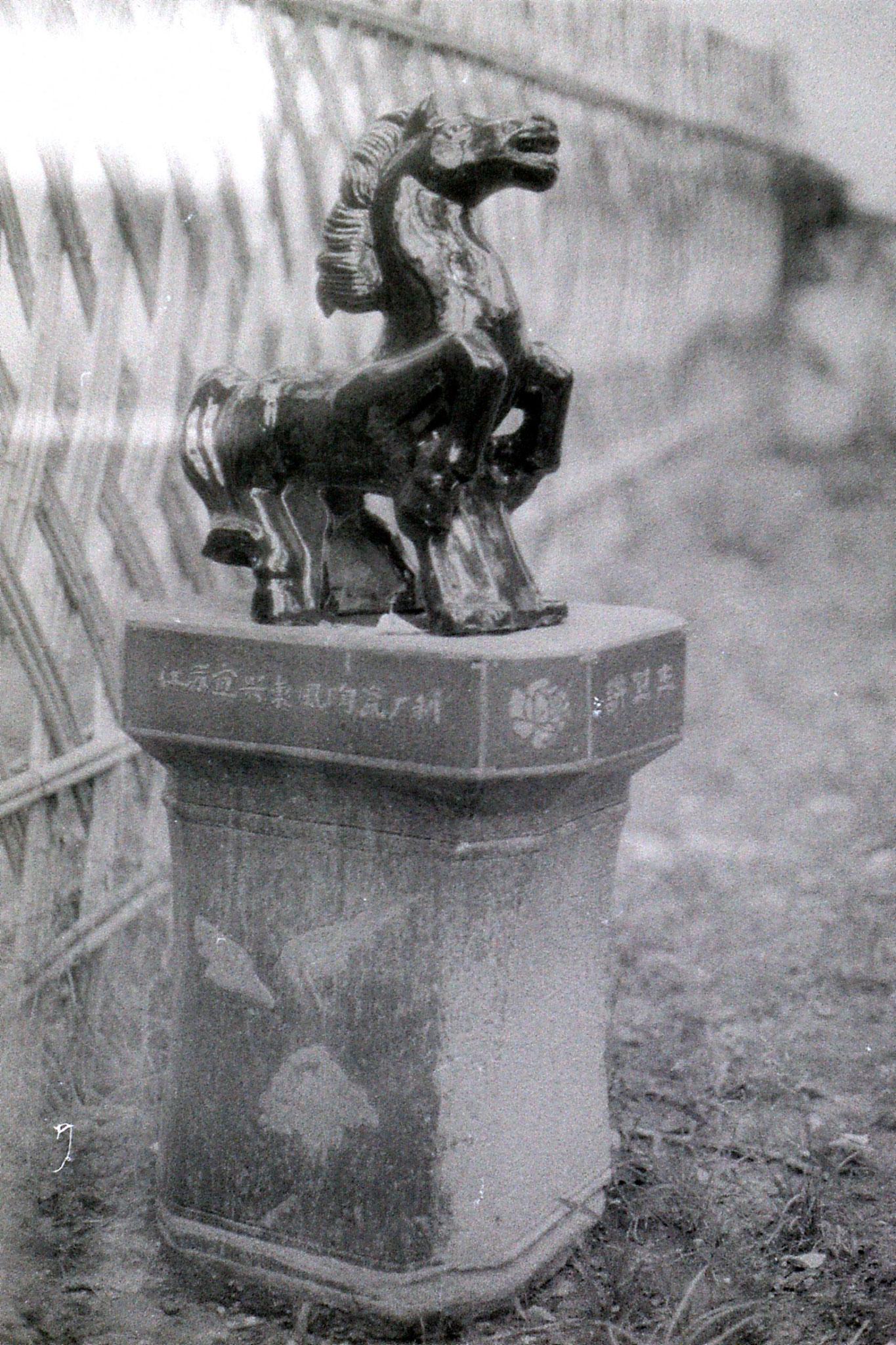 26/6/1989: 0: Shaoxing, horse rubbish bin