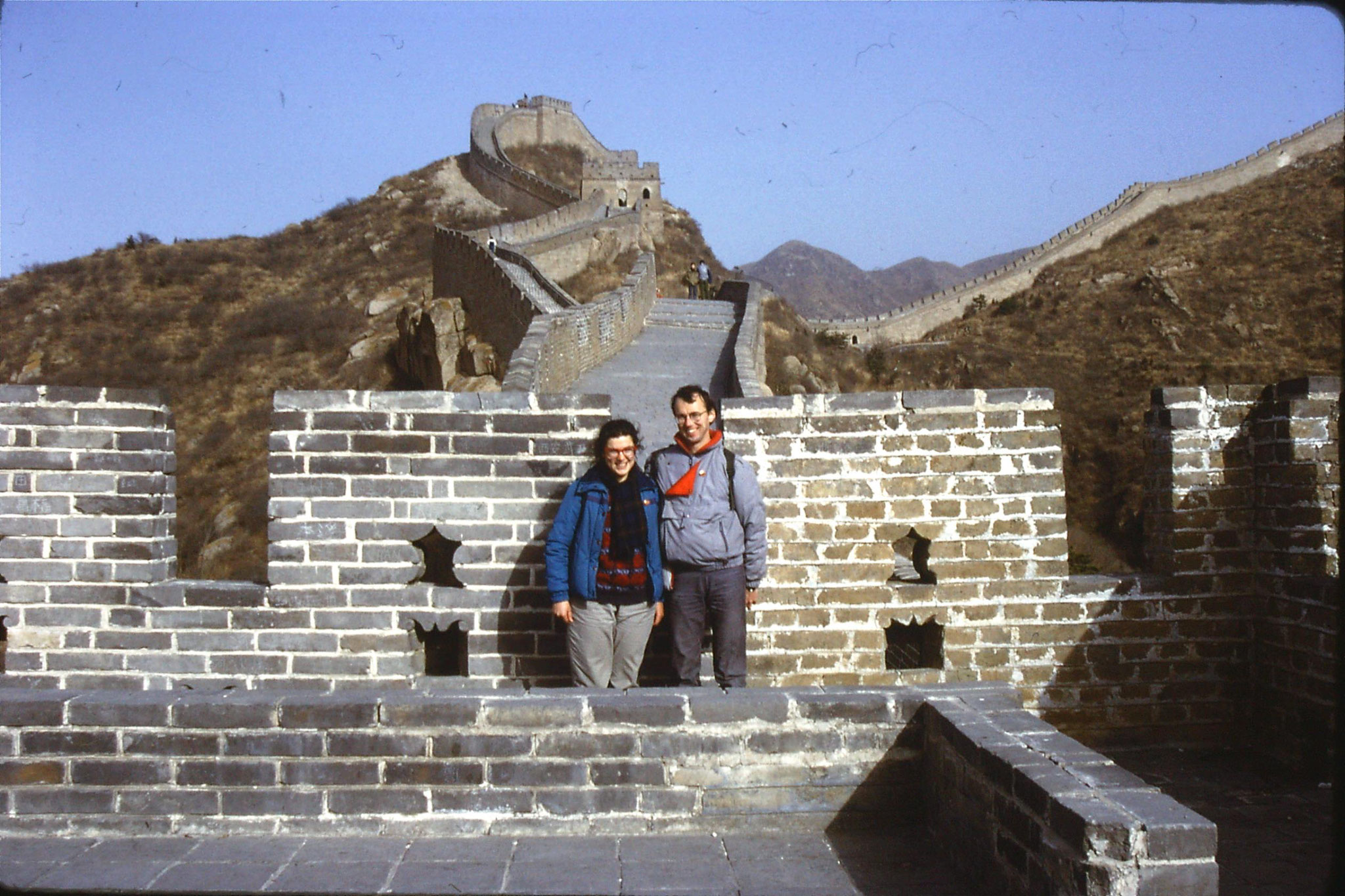 12/11/1988: 5: Great Wall at Badaling
