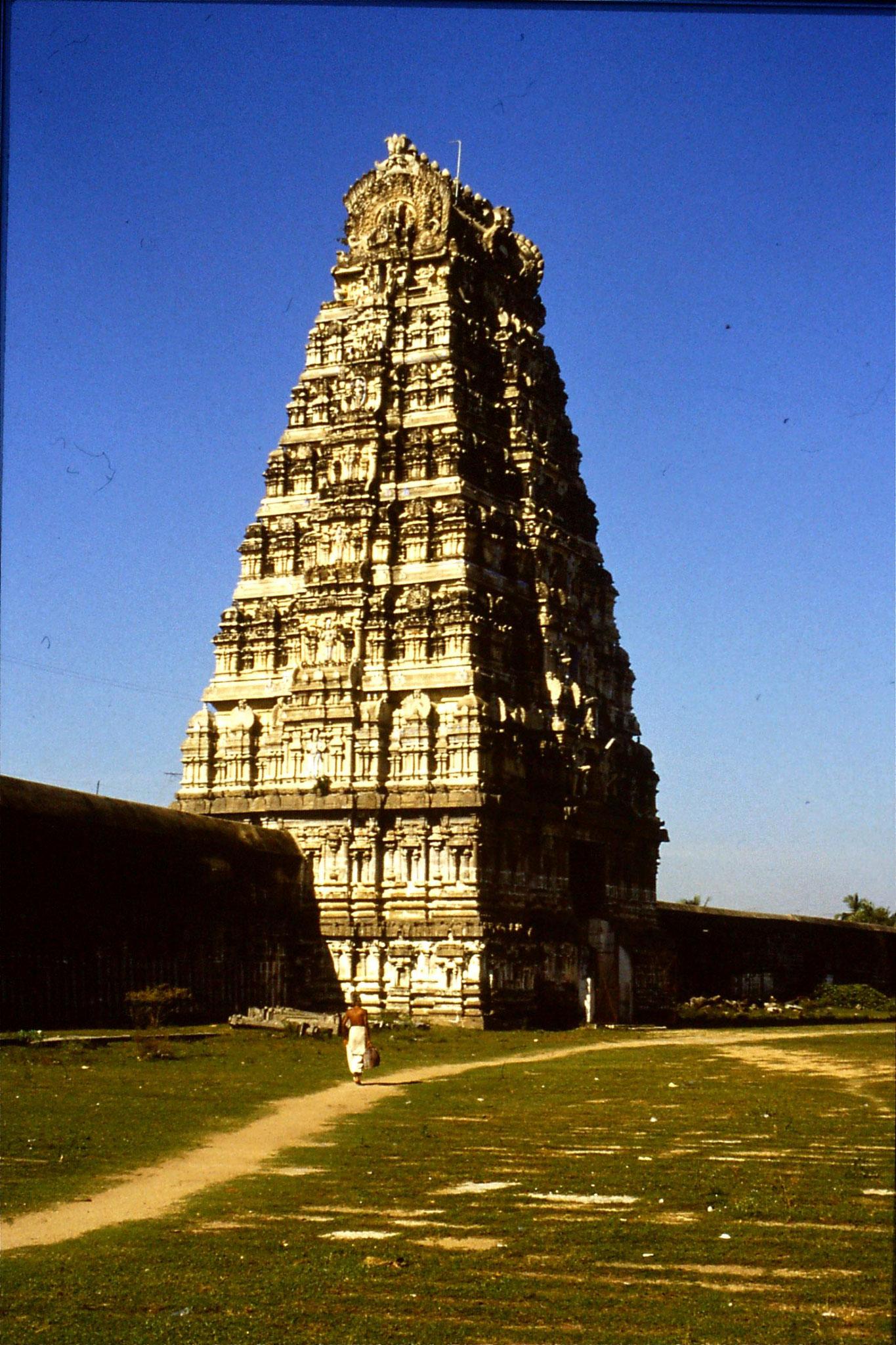 19/1/1990: 14: Kanchipuram Ekambareshwara Temple