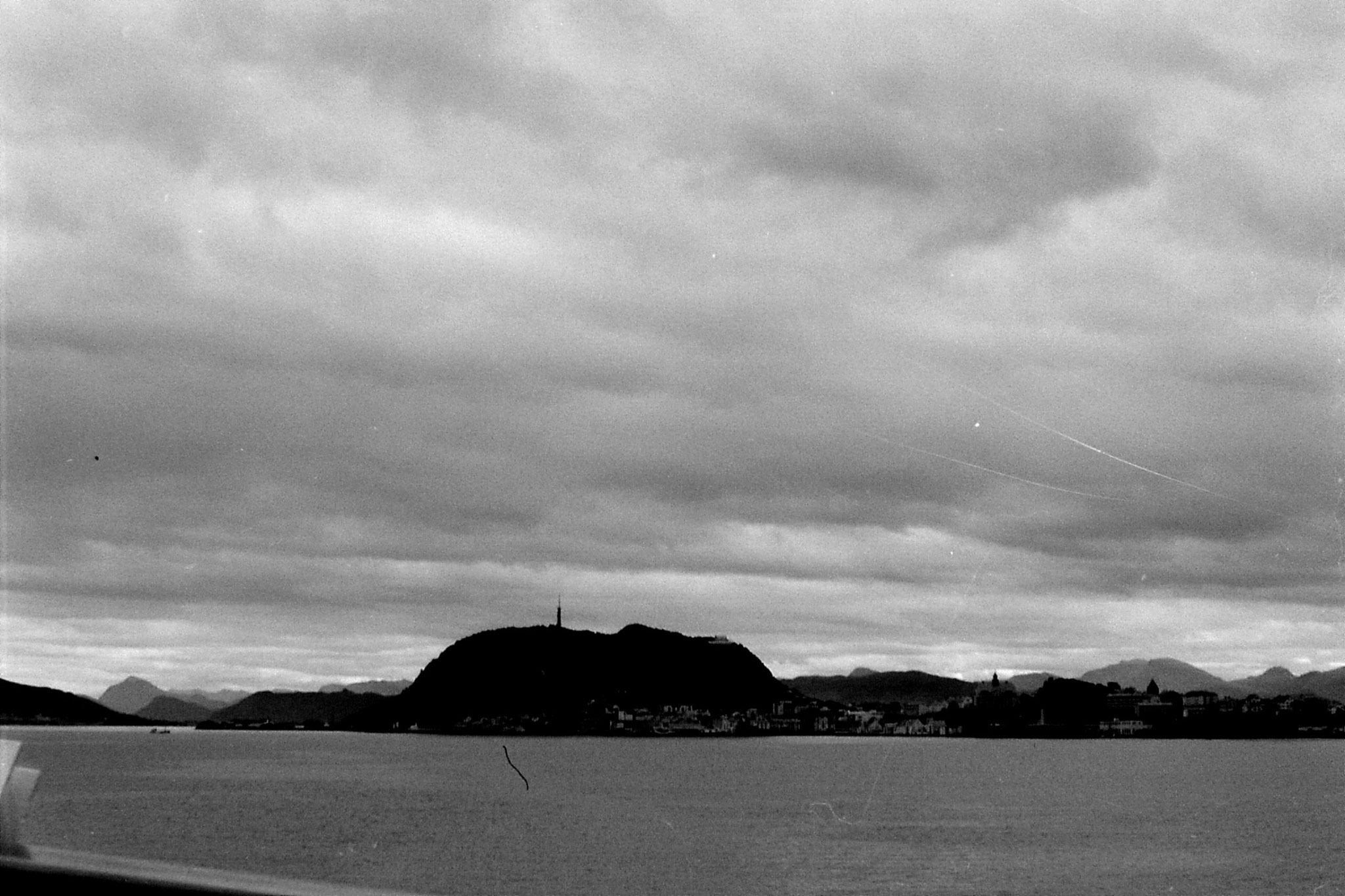 30: Alesund from ship