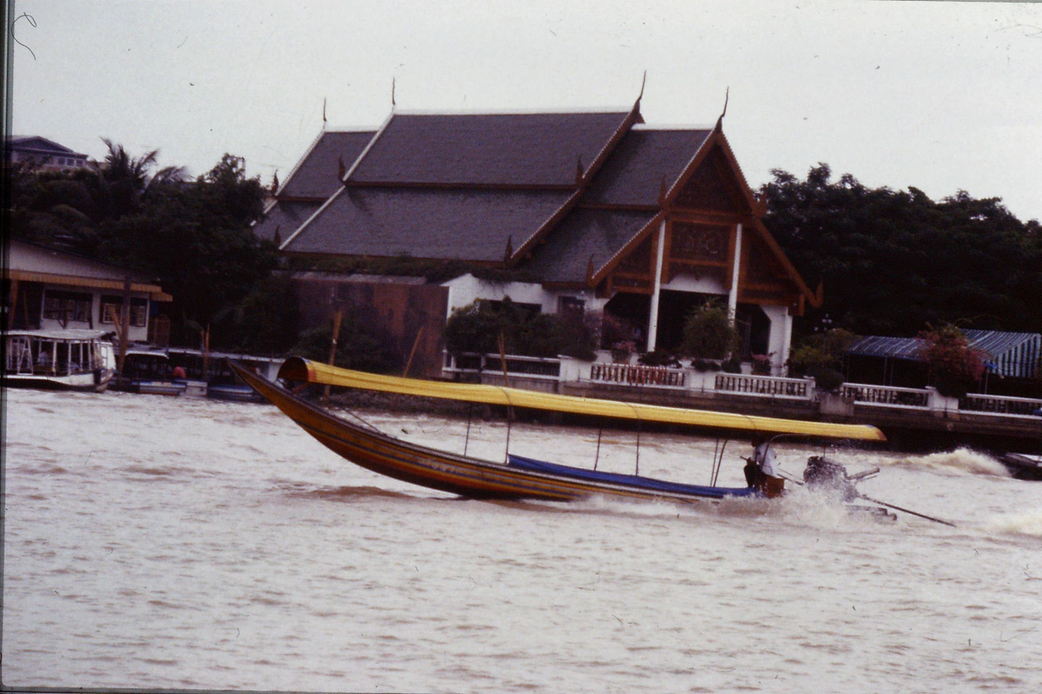 17/6/1990: 11: Bangkok long tail boats