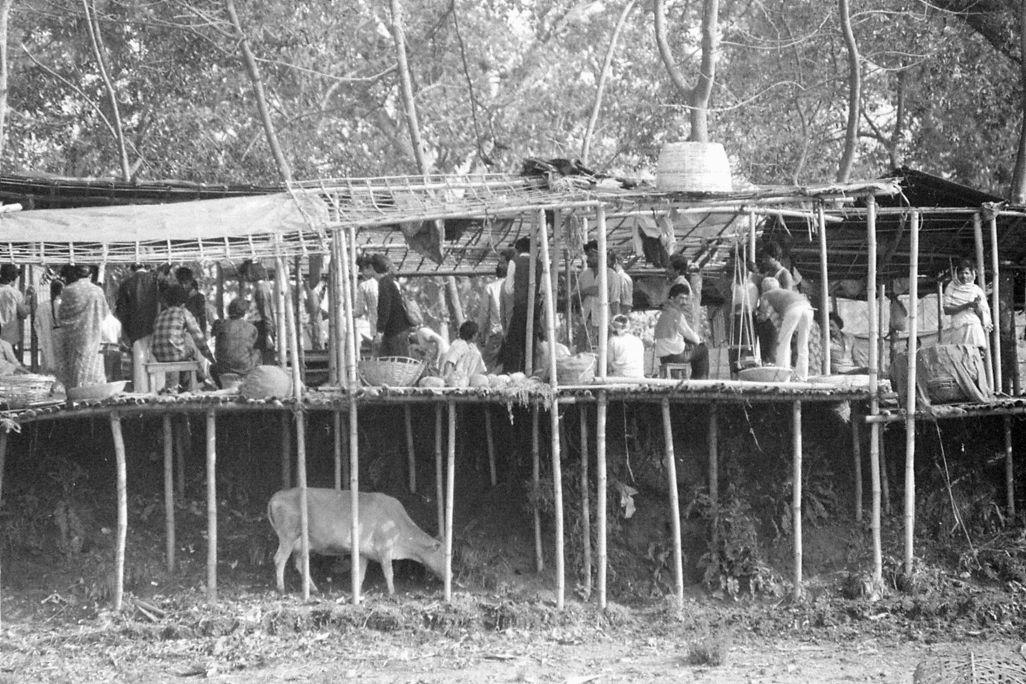 10/4/1990: 32: Gauhati, Brahmaputra River, market