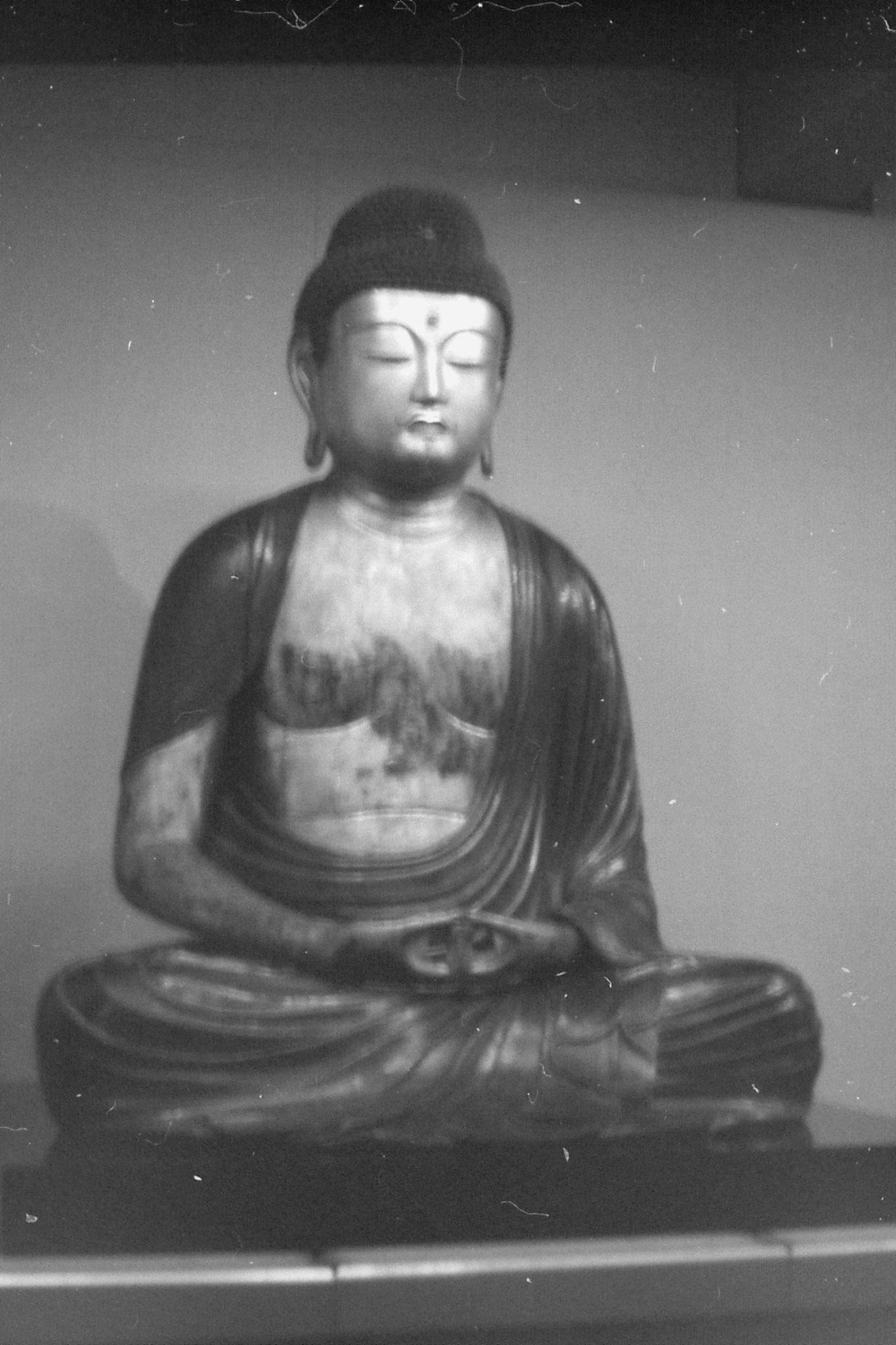 26/1/1989: 5:Amitabha (Buddha) 14-14C Kamakura period, Jyoganji Temple