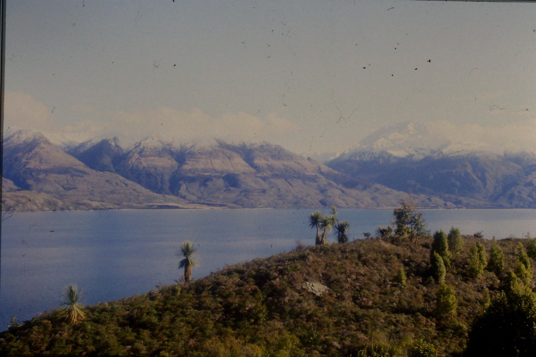 21/8/1990: 23: Lake Wanaka south end