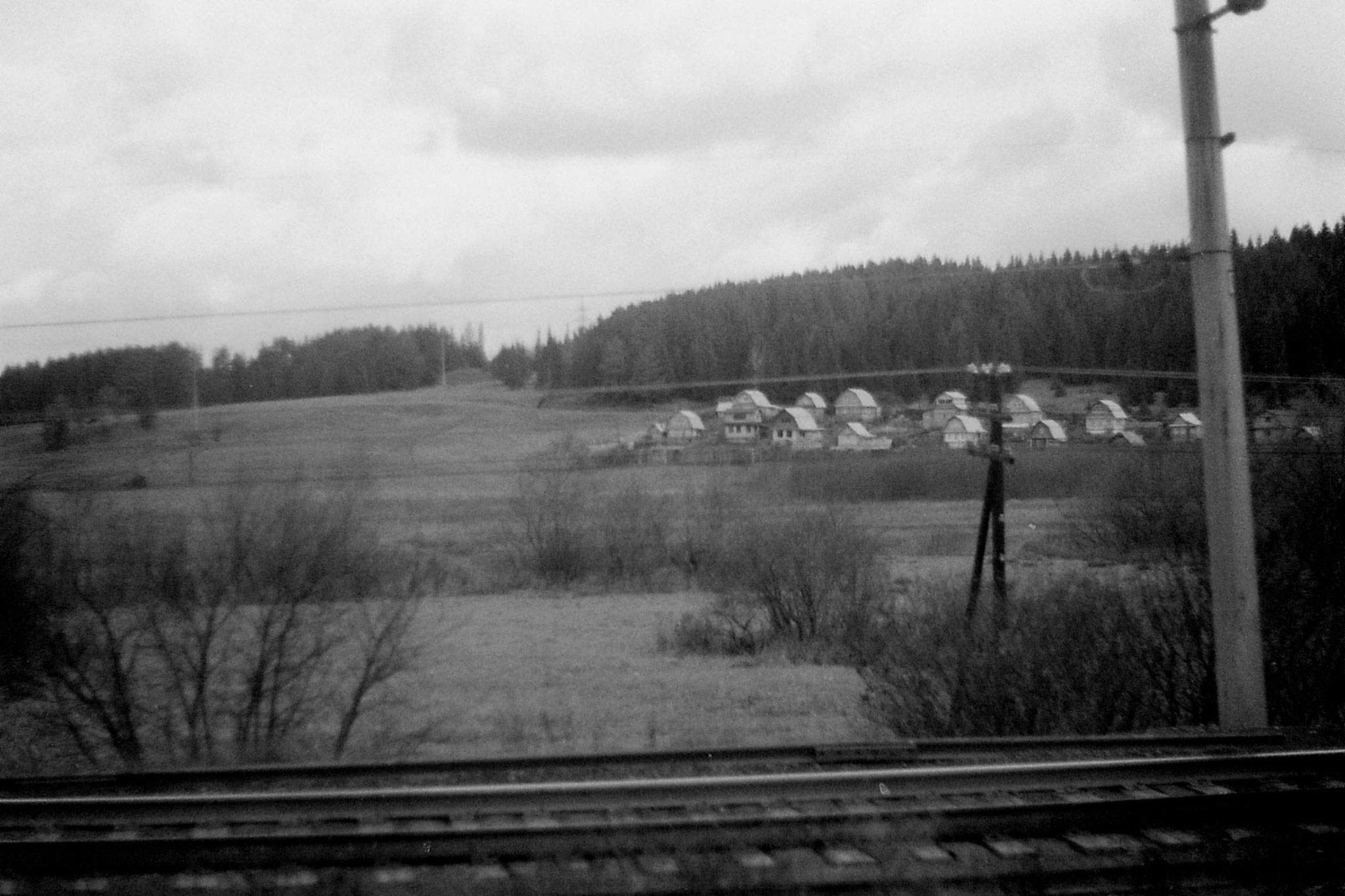 19/10/1988: 25: from Siberian Express between Balezino and Perm