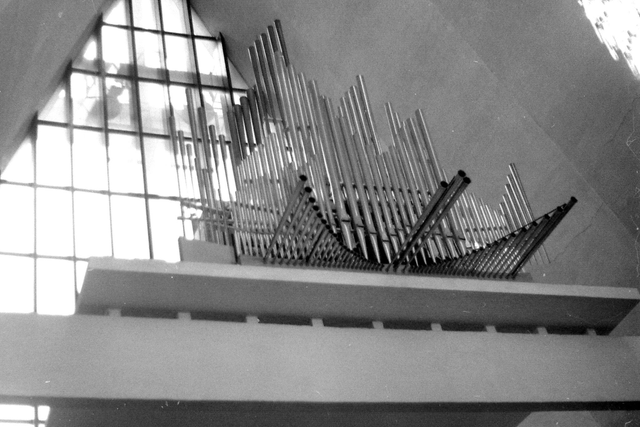 25/9/1988: 21: Tromsdal cathedral organ