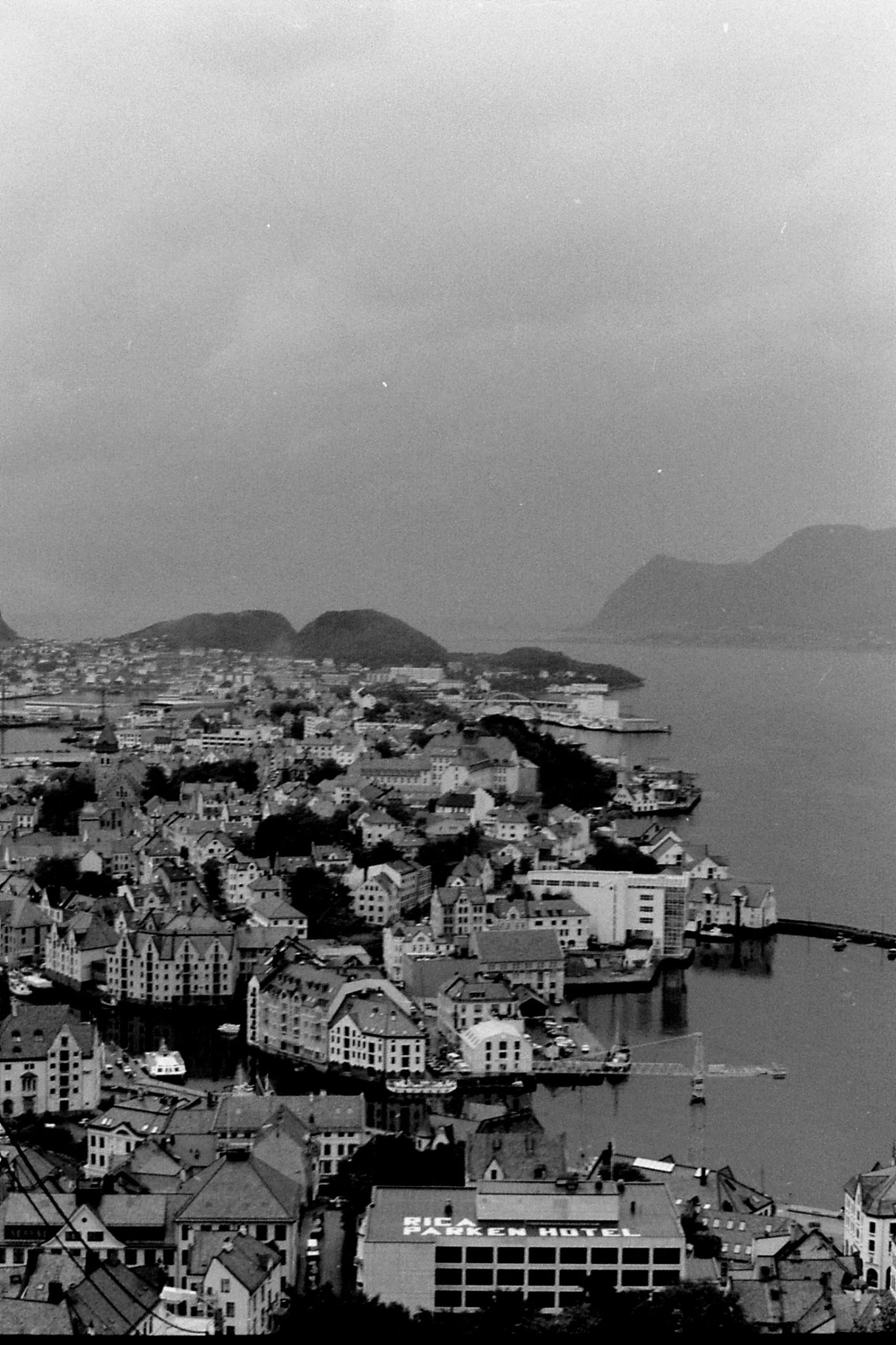 32: Alesund from hill