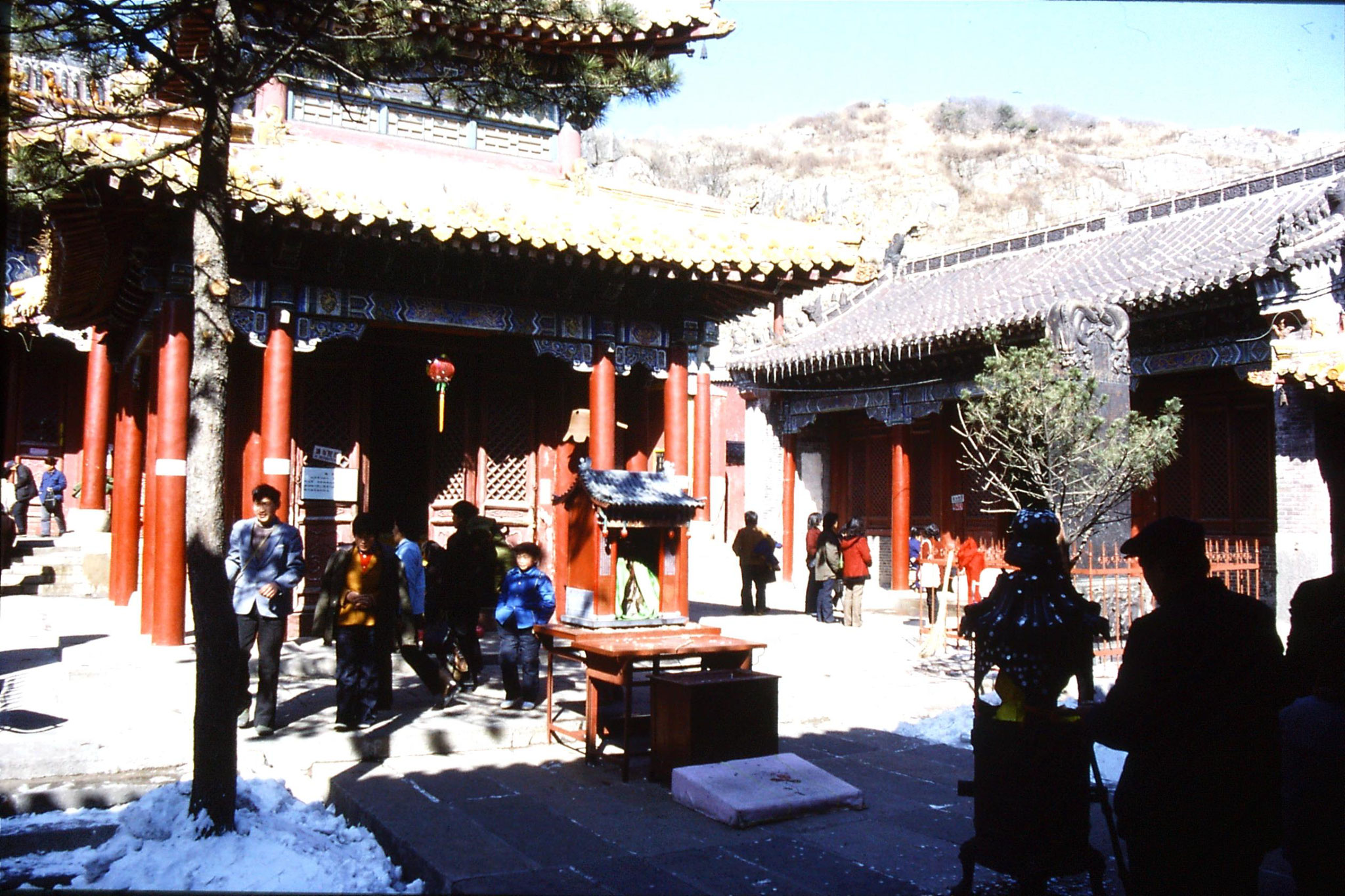 18/2/1989: 20: Taishan Azure Cloud temple