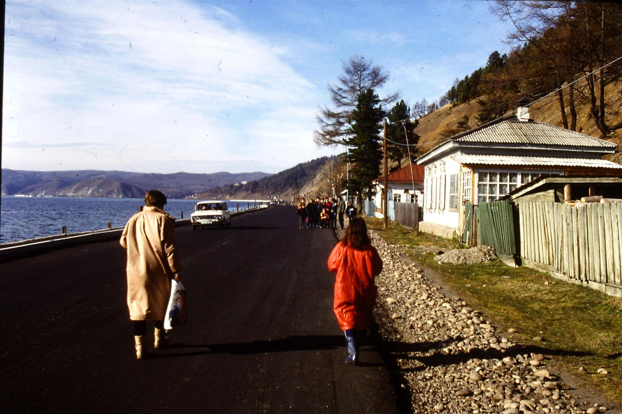23/10/1988: 27: Lake Baikal Listvyanka