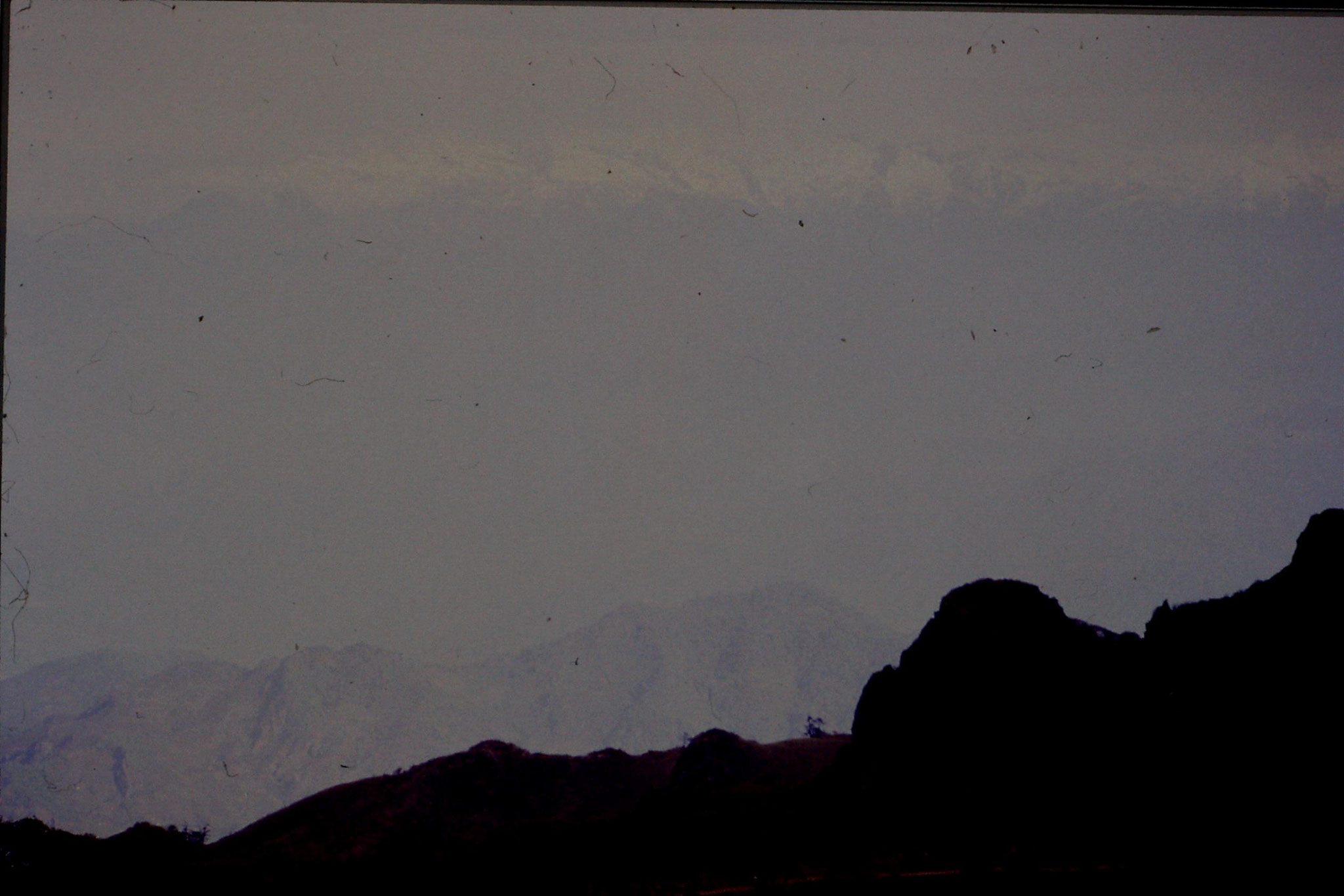 7/5/1990: 10: Sandakpu, towards Everest