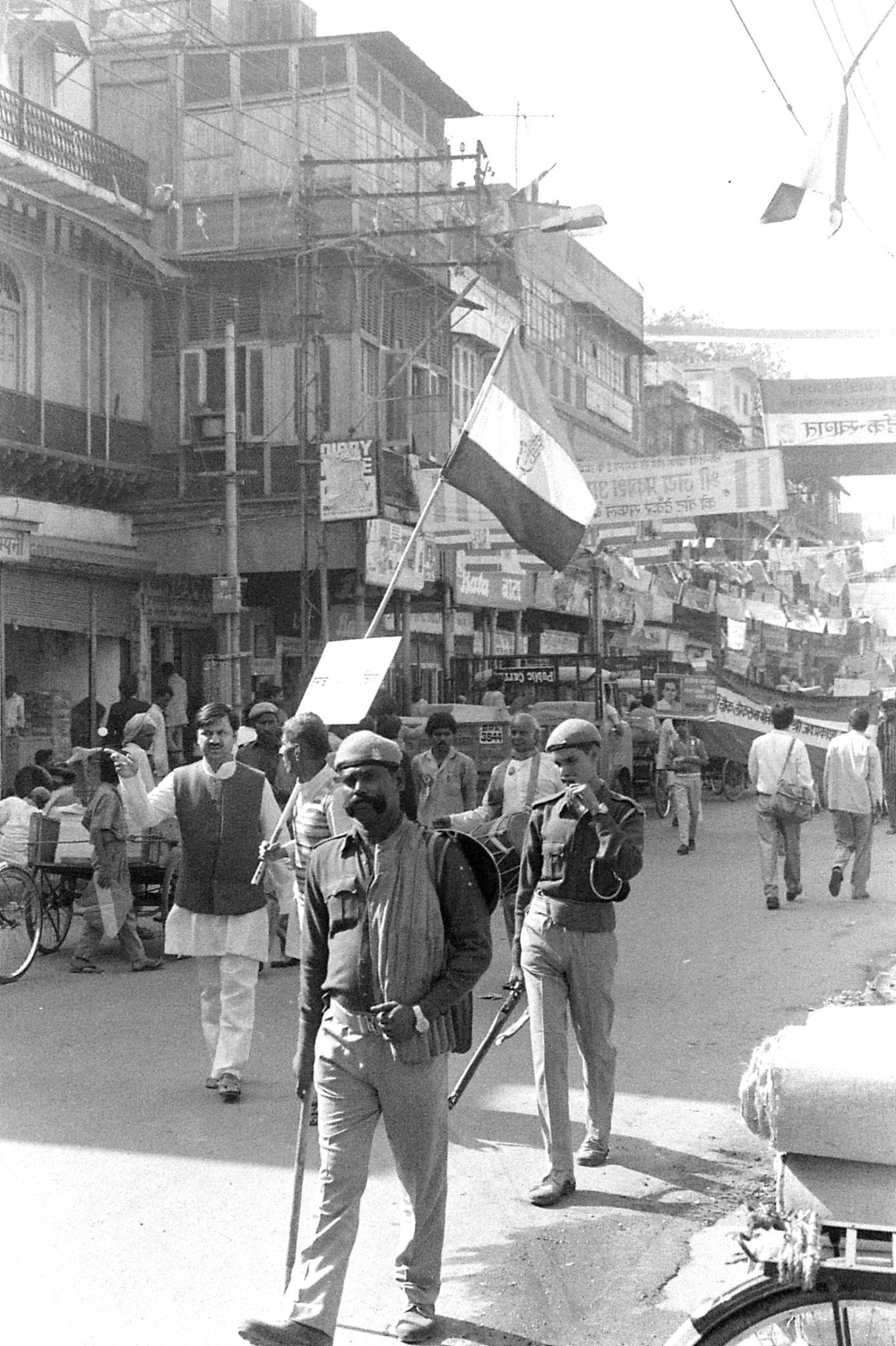 20/11/1989: 11: New Delhi Congress (I) supporters