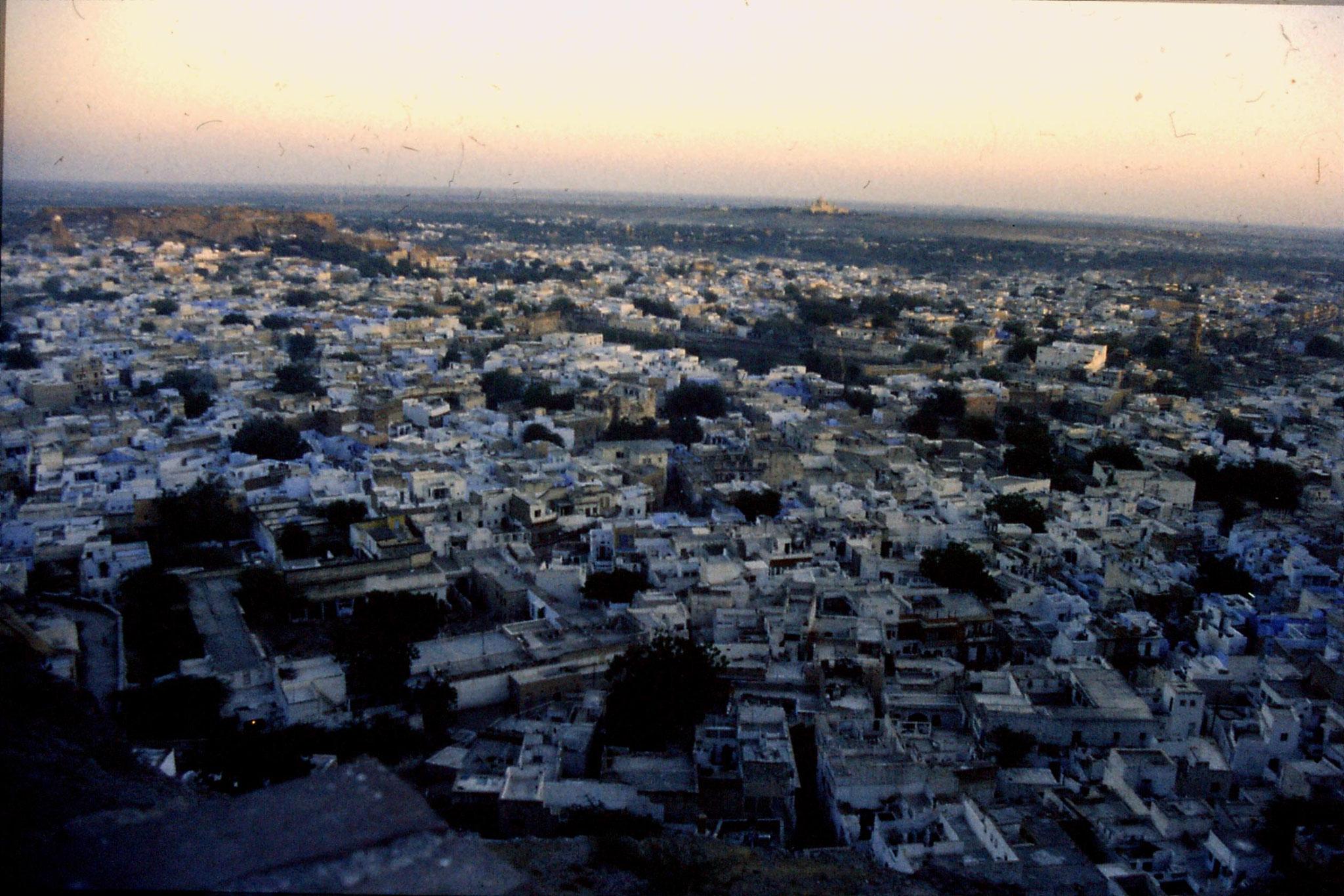28/11/1989: 2: Jodhpur looking SE