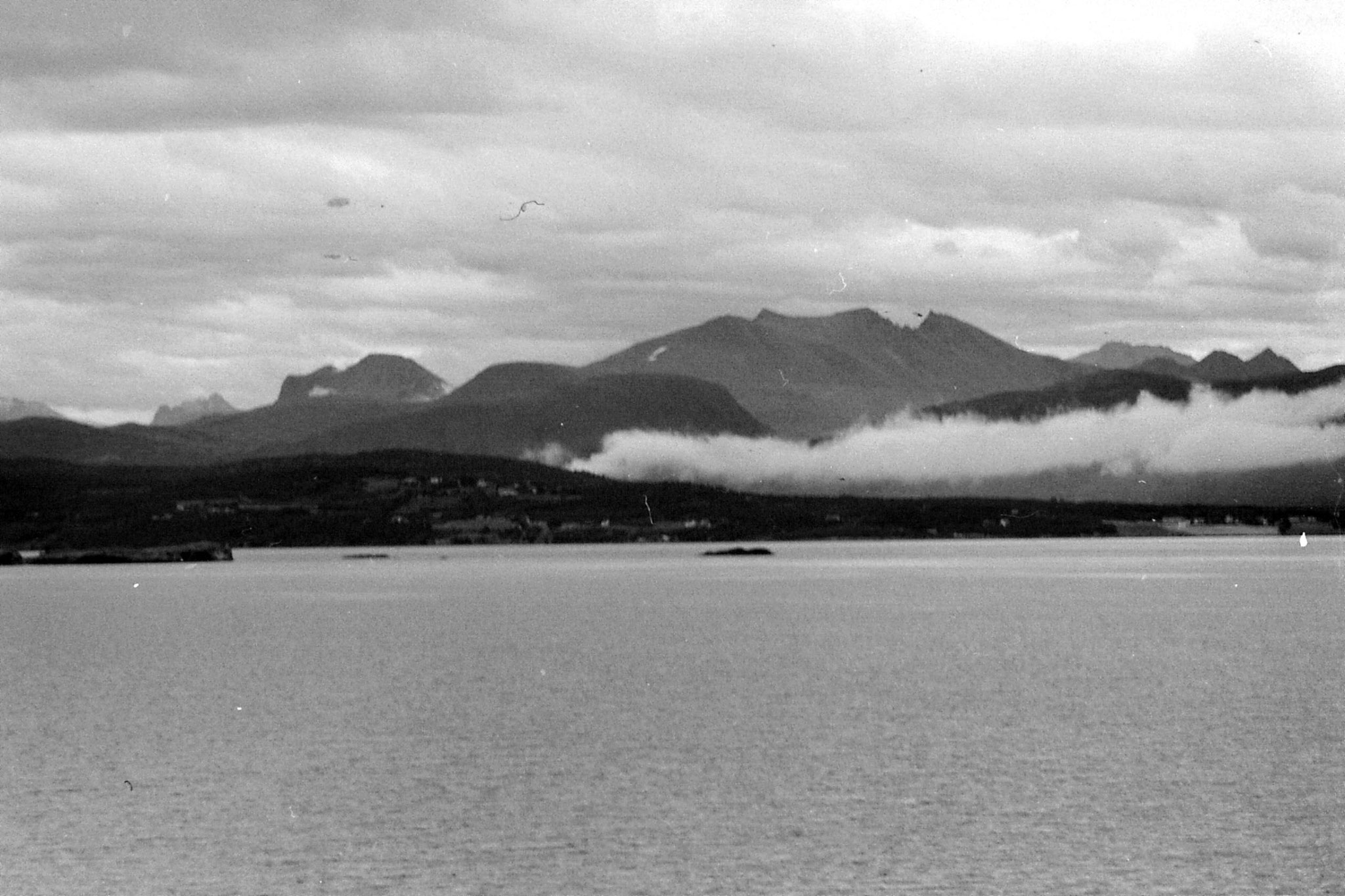 34: Between Alesund and Molde, looking toward Romsdal Mountains