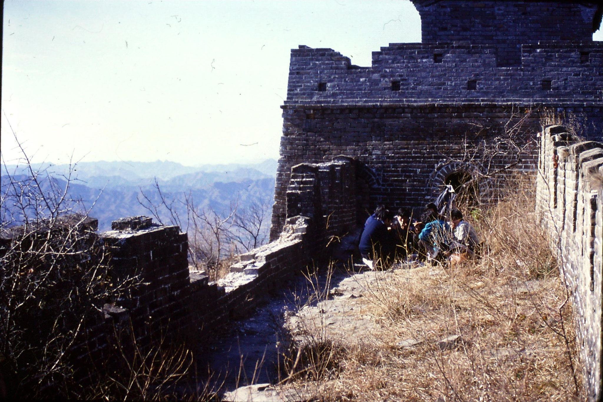 13/11/1988: 20: Great Wall at Mutianyu