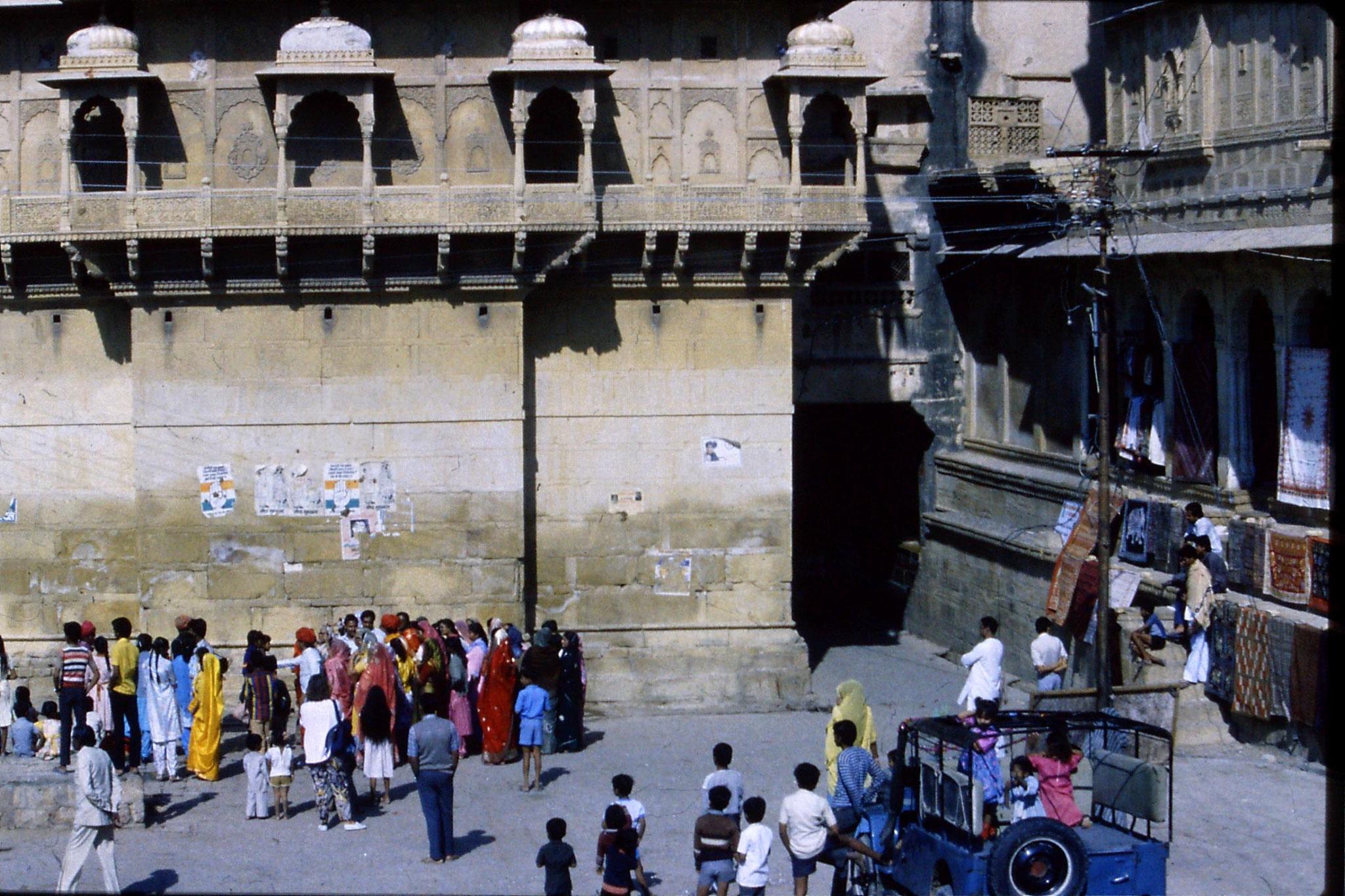 3/12/1989: 1: Jaisalmer wedding procession