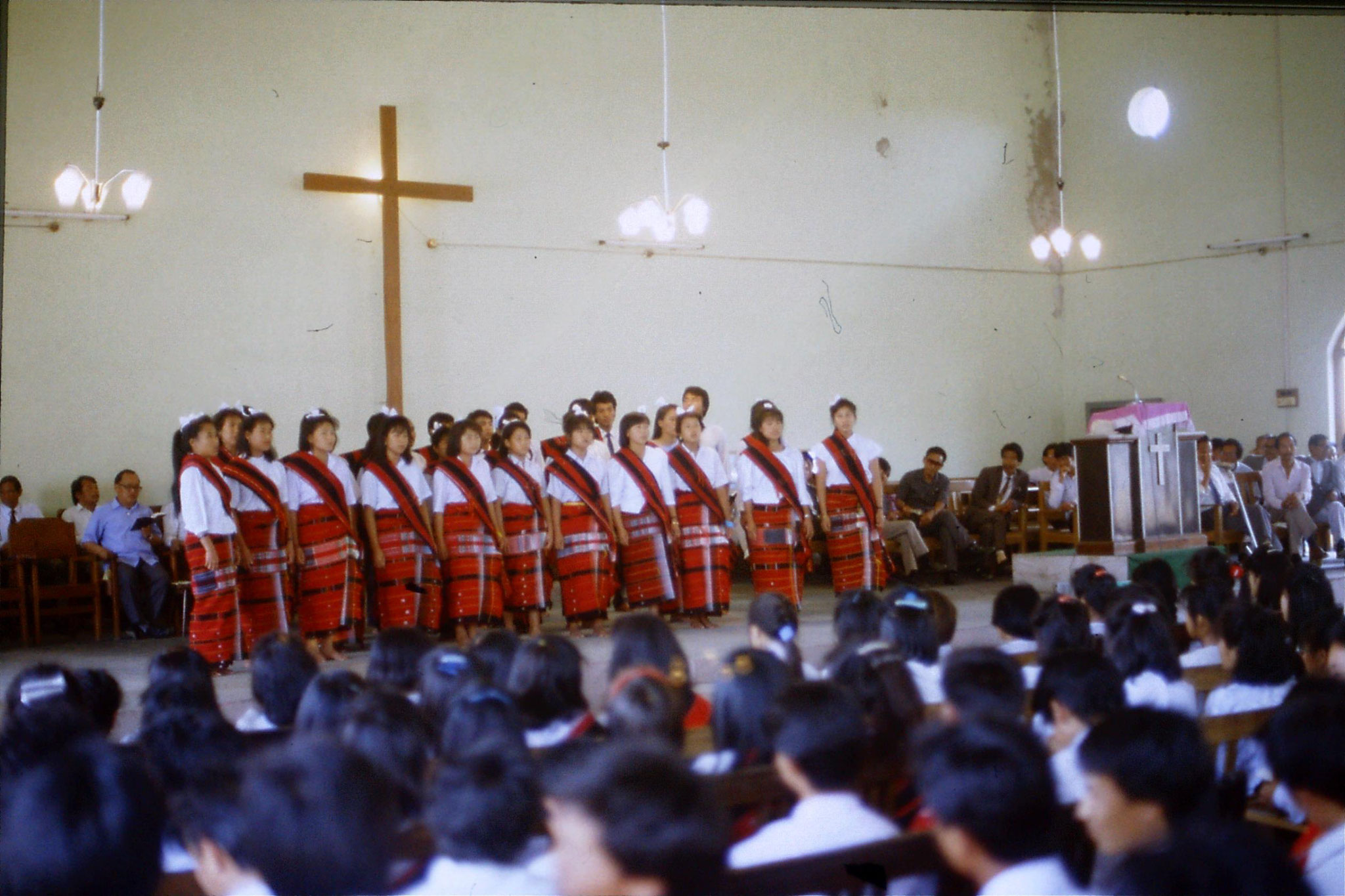 113/5: 15/4 Imphal Baptist Church - hymn singing competition