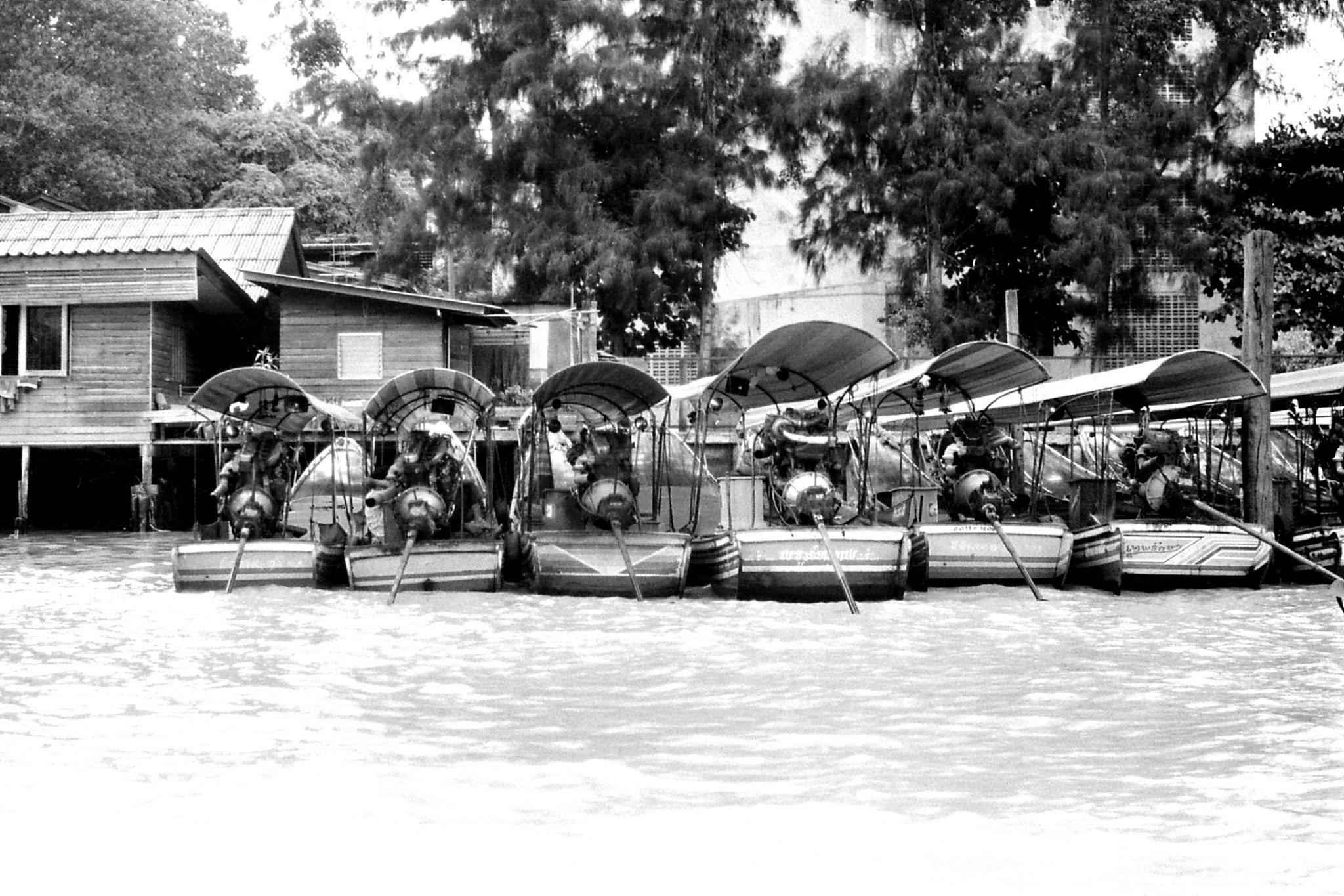 17/6/1990: 24: Bangkok, on the river