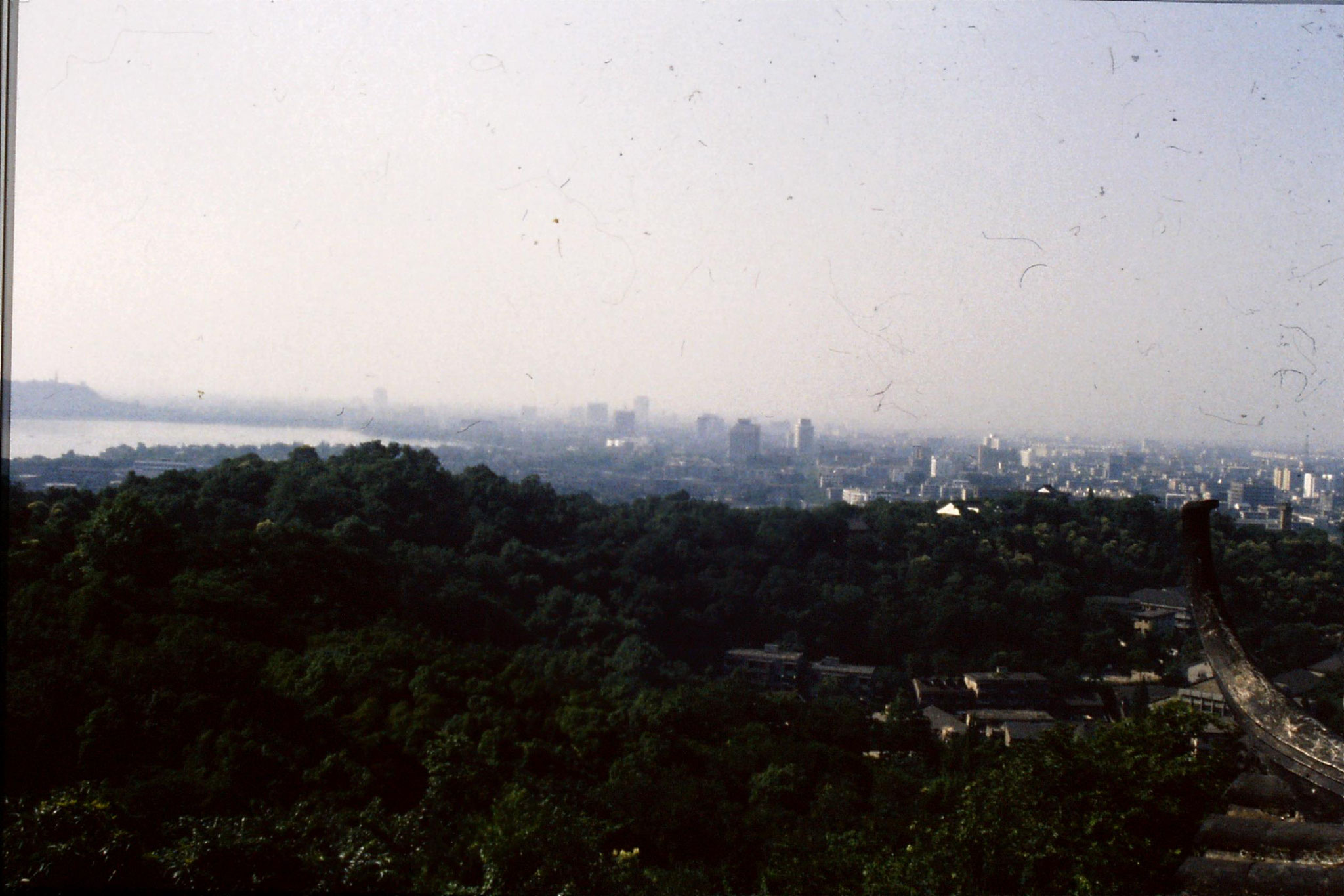 24/6/1989: 14: West Lake  from Ziyang hill