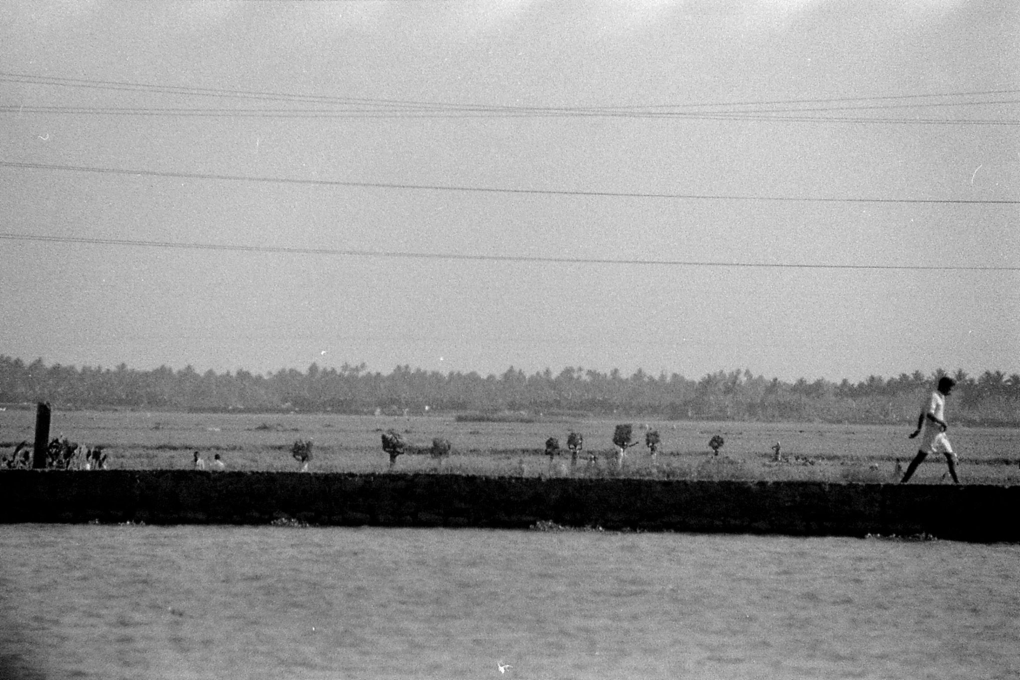 097/33: 23/2/1990 boat to Alleppey