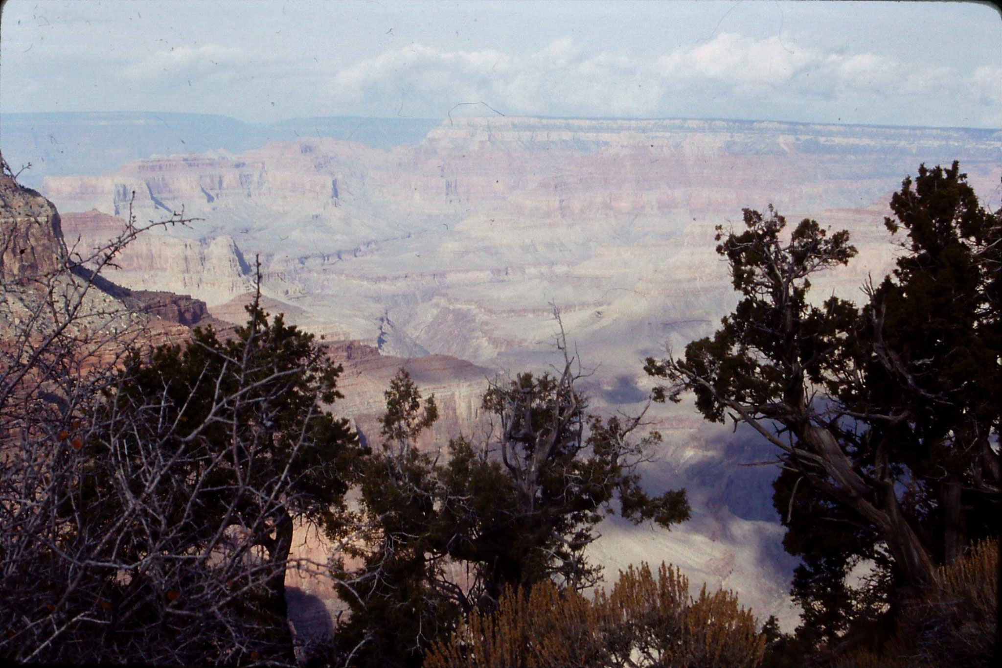 17/12/1990: 3: Grand Canyon from Hermit's Rest