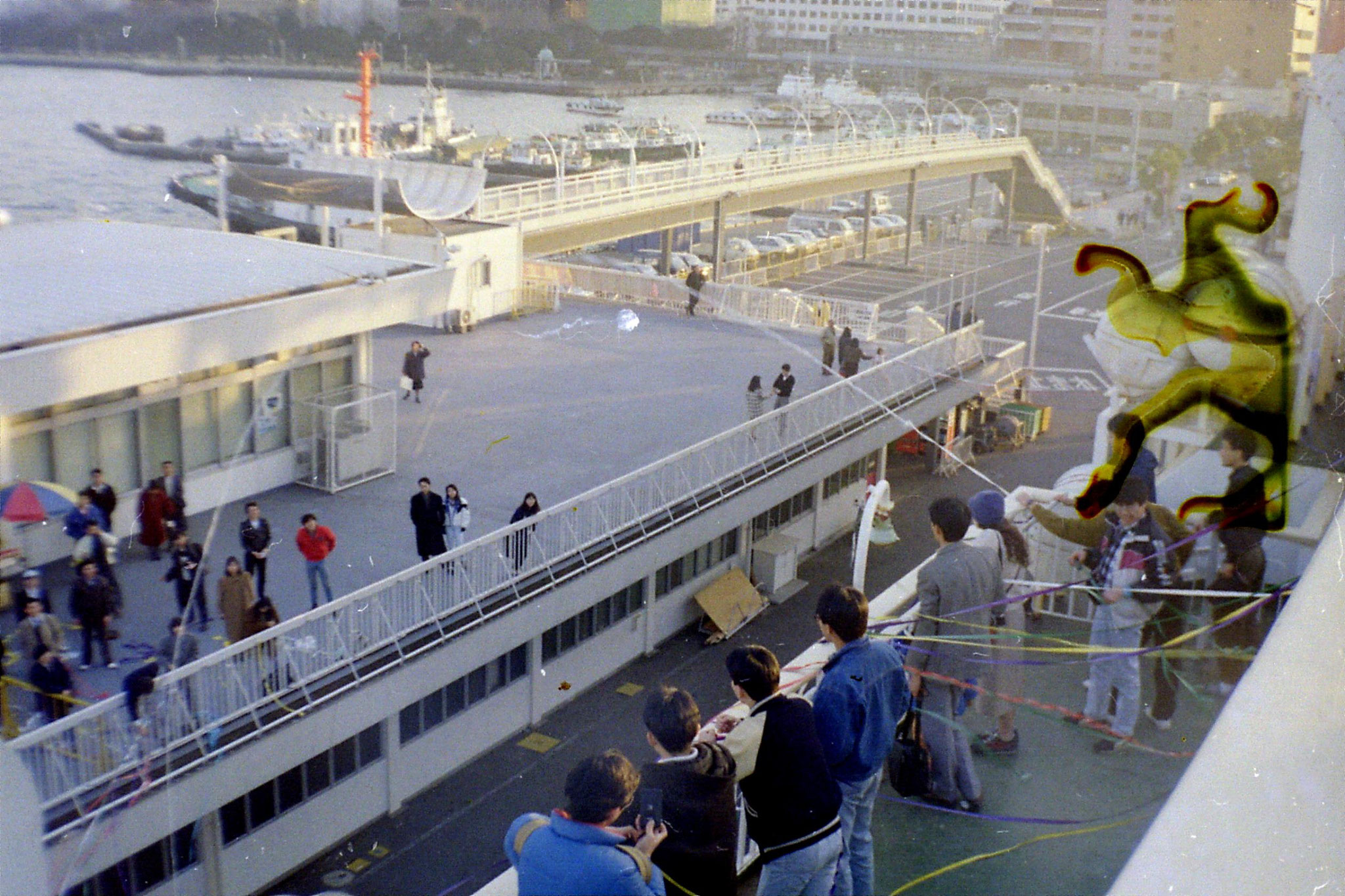 6/2/1989: 5: Yokohama quayside at New Year
