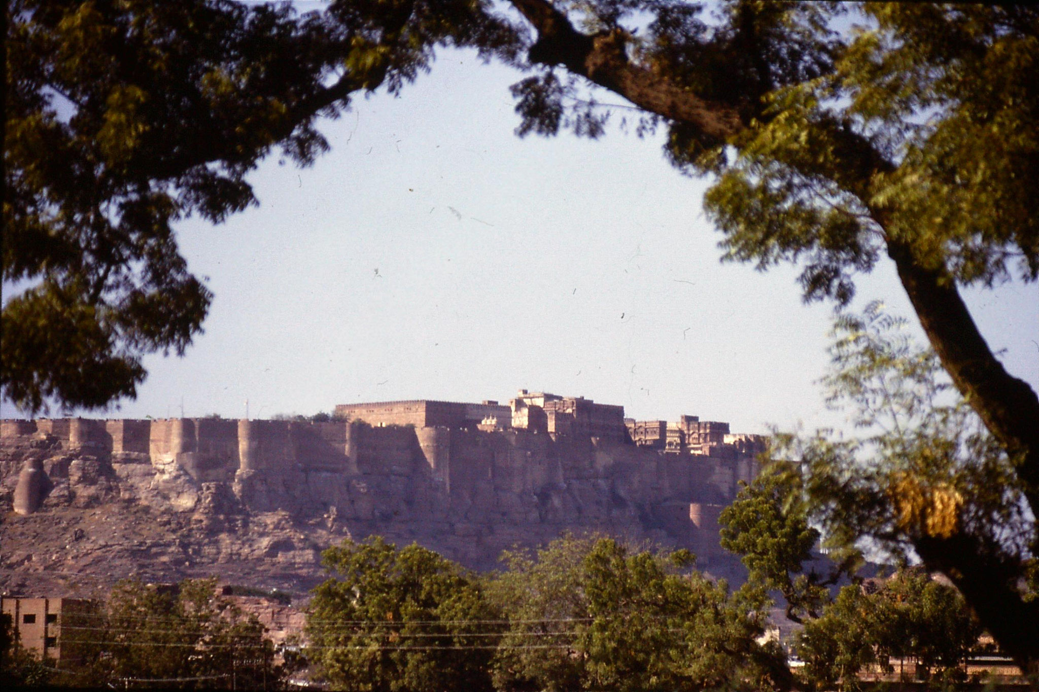 28/11/1989: 27: Jodhpur fort from south