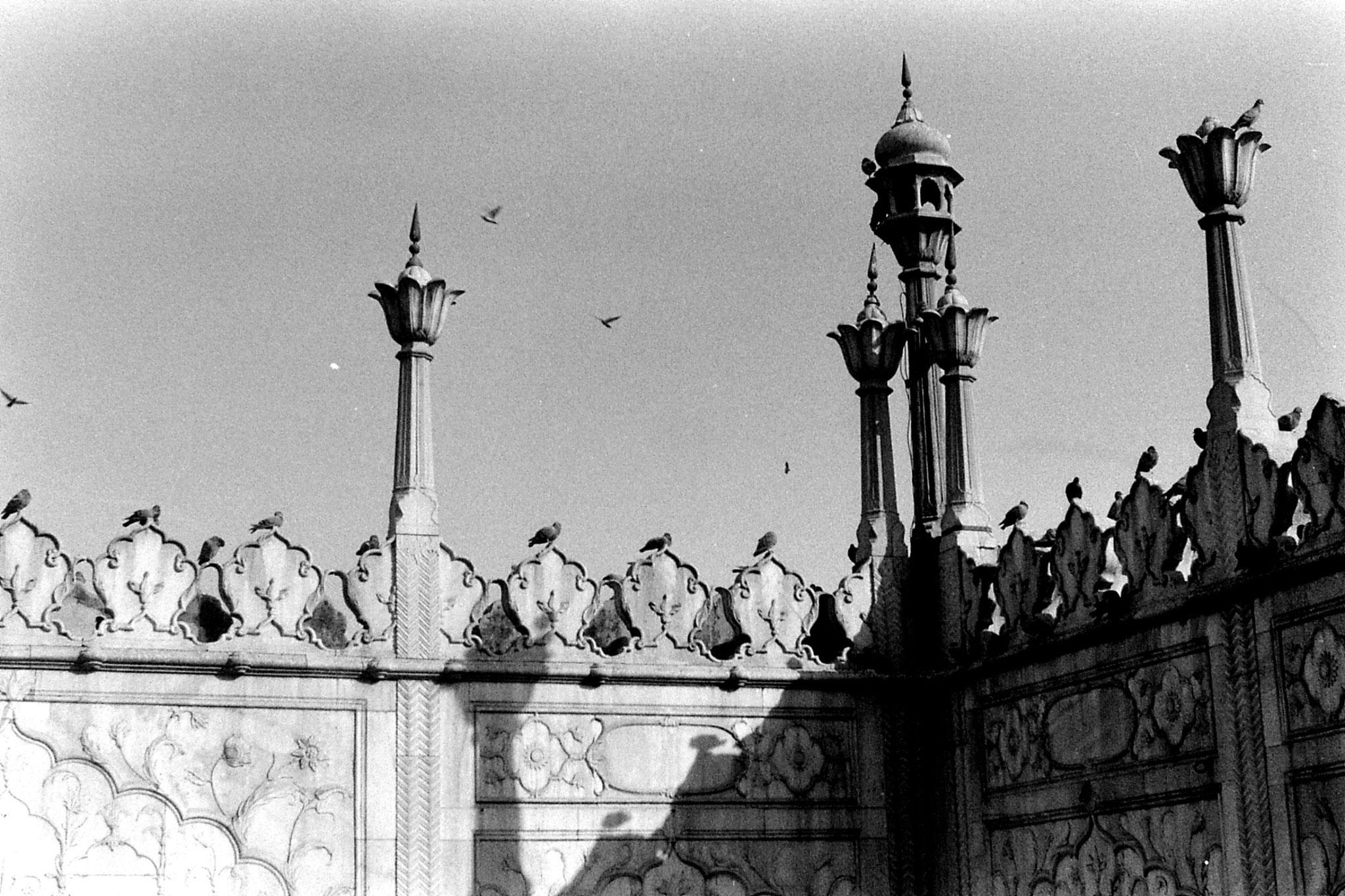 20/11/1989: 17: New Delhi Red Fort Moti Masjid