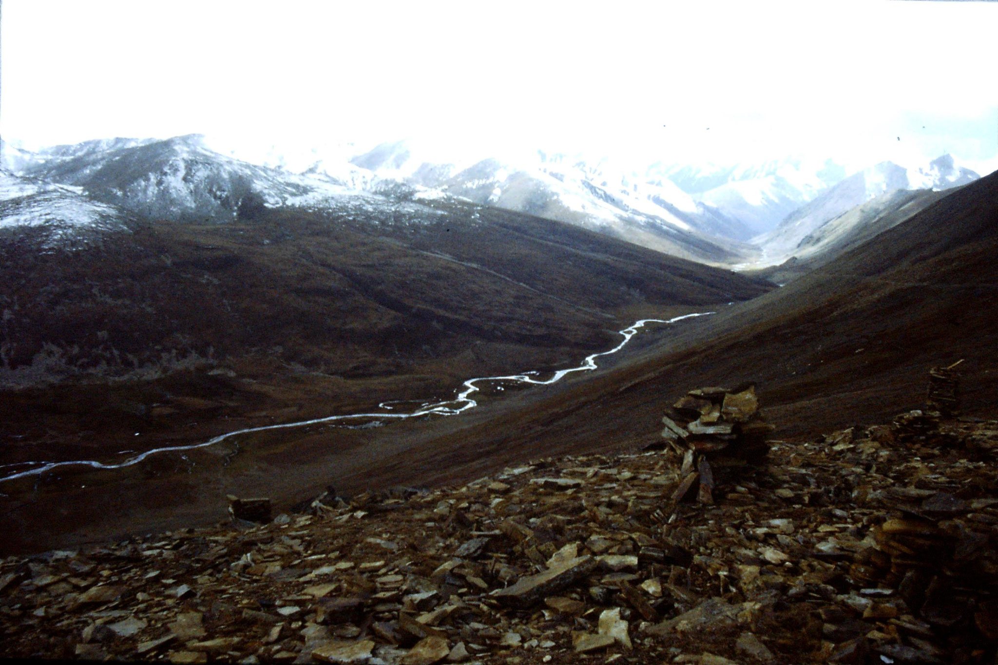 6/10/1989: 34: below Babusar Pass